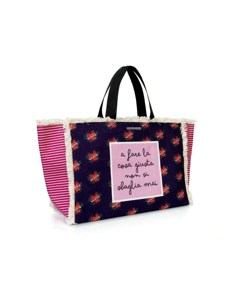 Borsa Le Pandorine Marina Bag Giusta Violet