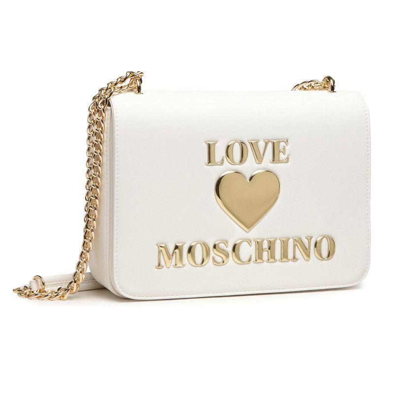 Borsa Love Moschino 4054 Bianco frontale