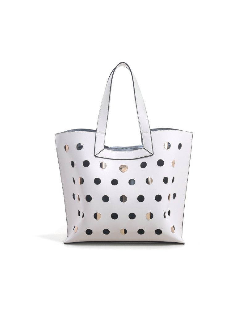 Borsa Shopping Le Pandorine Iris Bag DAY Offwhite