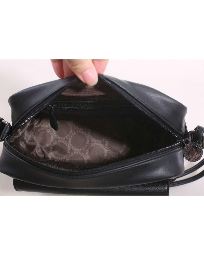 Borsa Tracolla Le Pandorine Pin Bag SCelta Black aperta