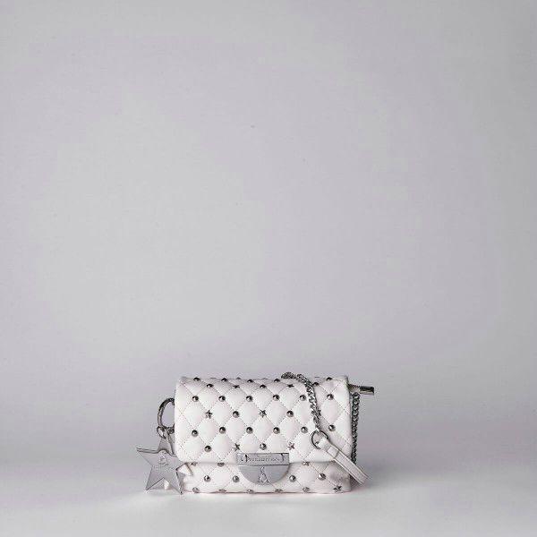 Borsa Tracolla Pash Bag Atelier Du Sac -10556 REB-91B Bianco