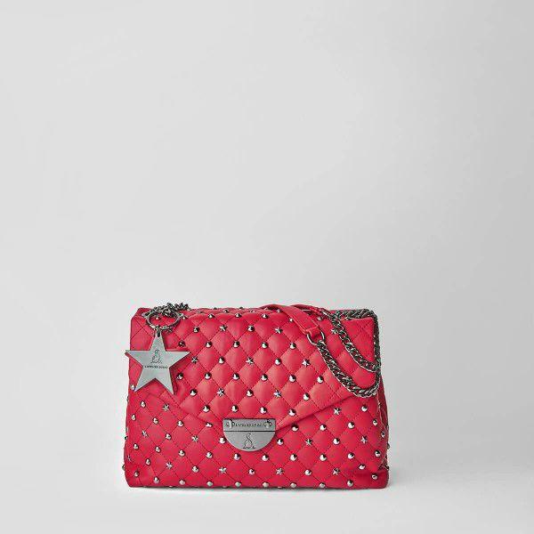 Borsa Tracolla Pash Bag Atelier Du Sac 10113-REB-91B rosso