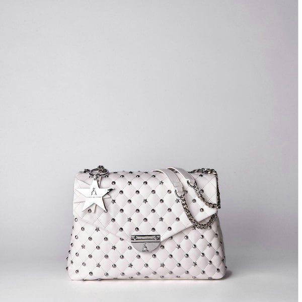 Borsa Tracolla Pash Bag Atelier Du Sac 10555-REB-91B Bianco