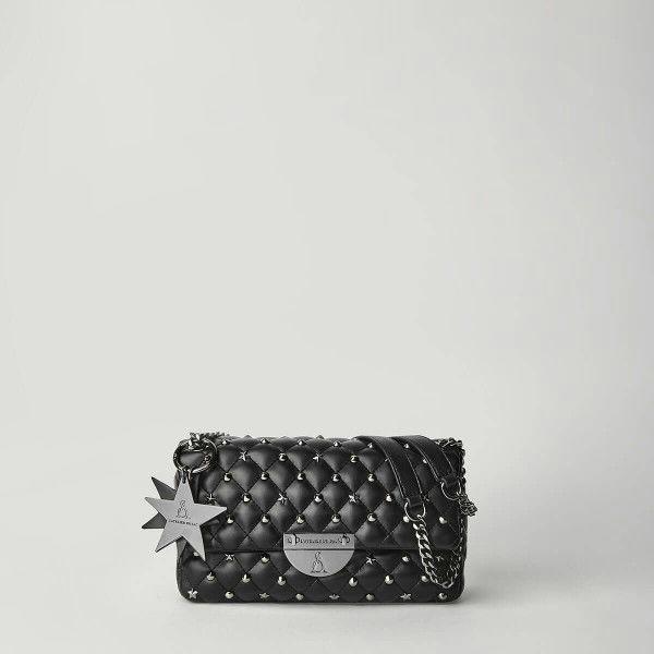 Borsa Tracolla Pash Bag Atelier Du Sac 10558-REB-91B Nero