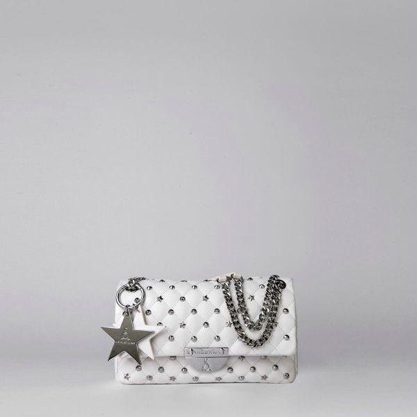 Borsa Tracolla Pash Bag Atelier Du Sac 10559-REB-91B Bianco