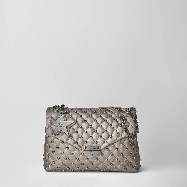 Borsa Tracolla Pash Bag Atelier Du Sac 10606-REB-91B Bronzo