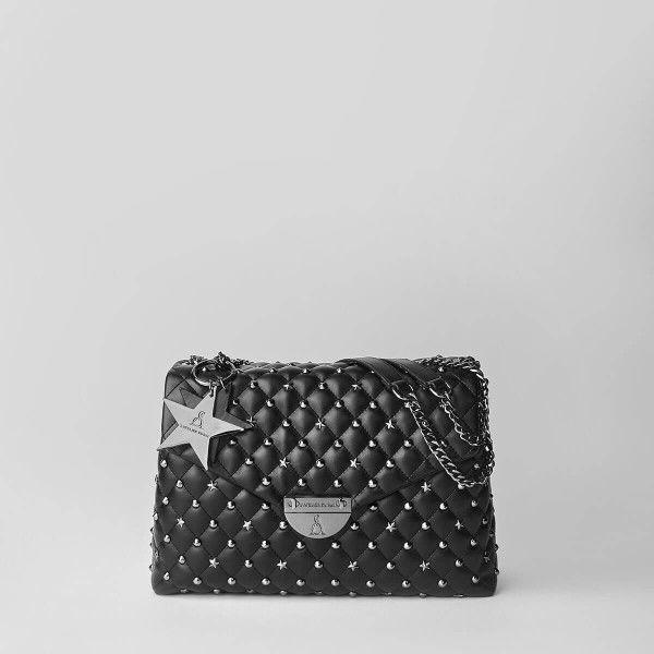 Borsa Tracolla Pash Bag Atelier Du Sac 9619-REB-91B Nero