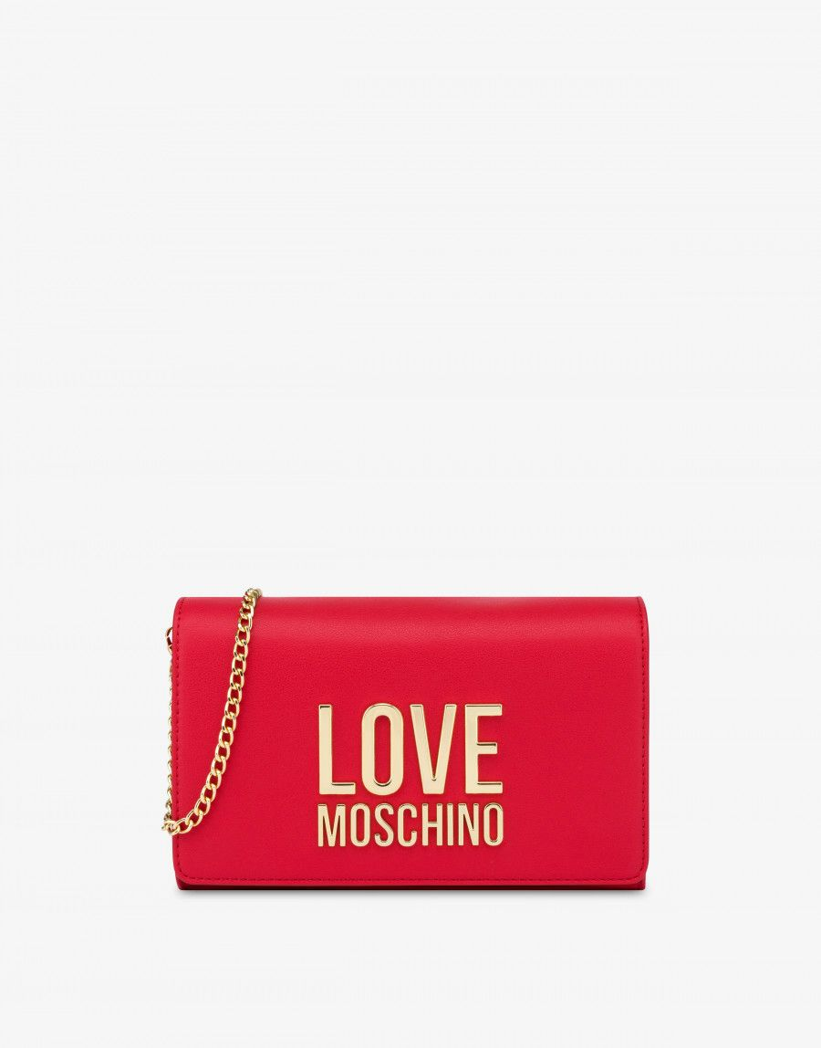 Clutch Love Moschino frontale