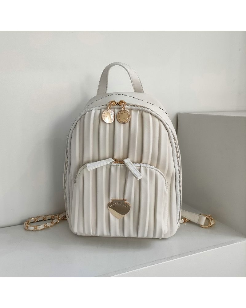 Zaino Le Pandorine Cris Backpack Mare White
