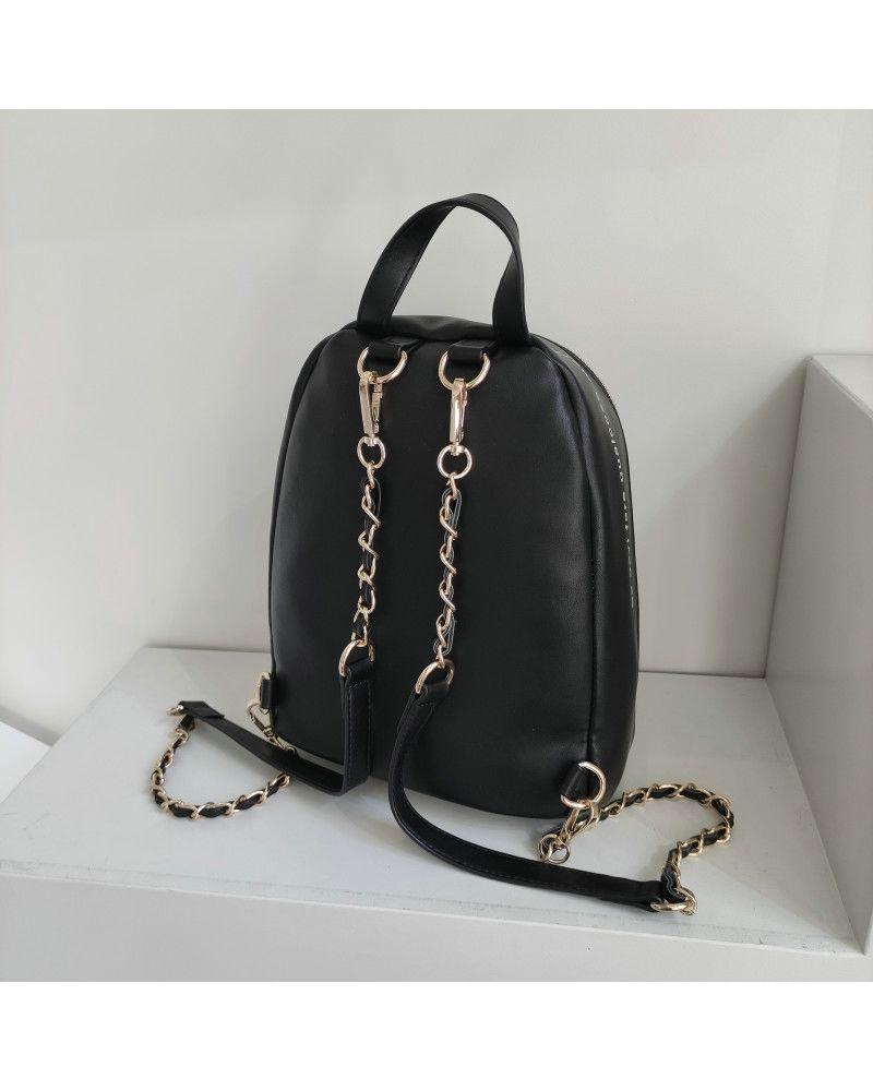 Zaino Le Pandorine Cris Backpack Stile Black retro