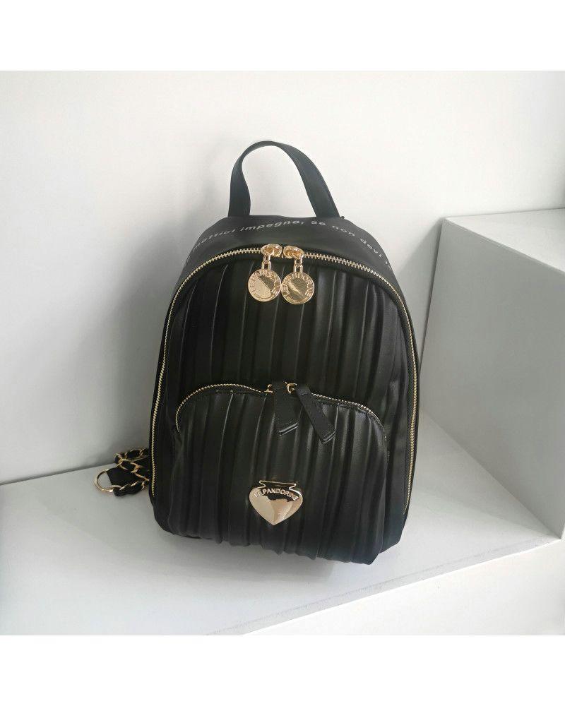 Zaino Le Pandorine Cris Backpack Stile Black