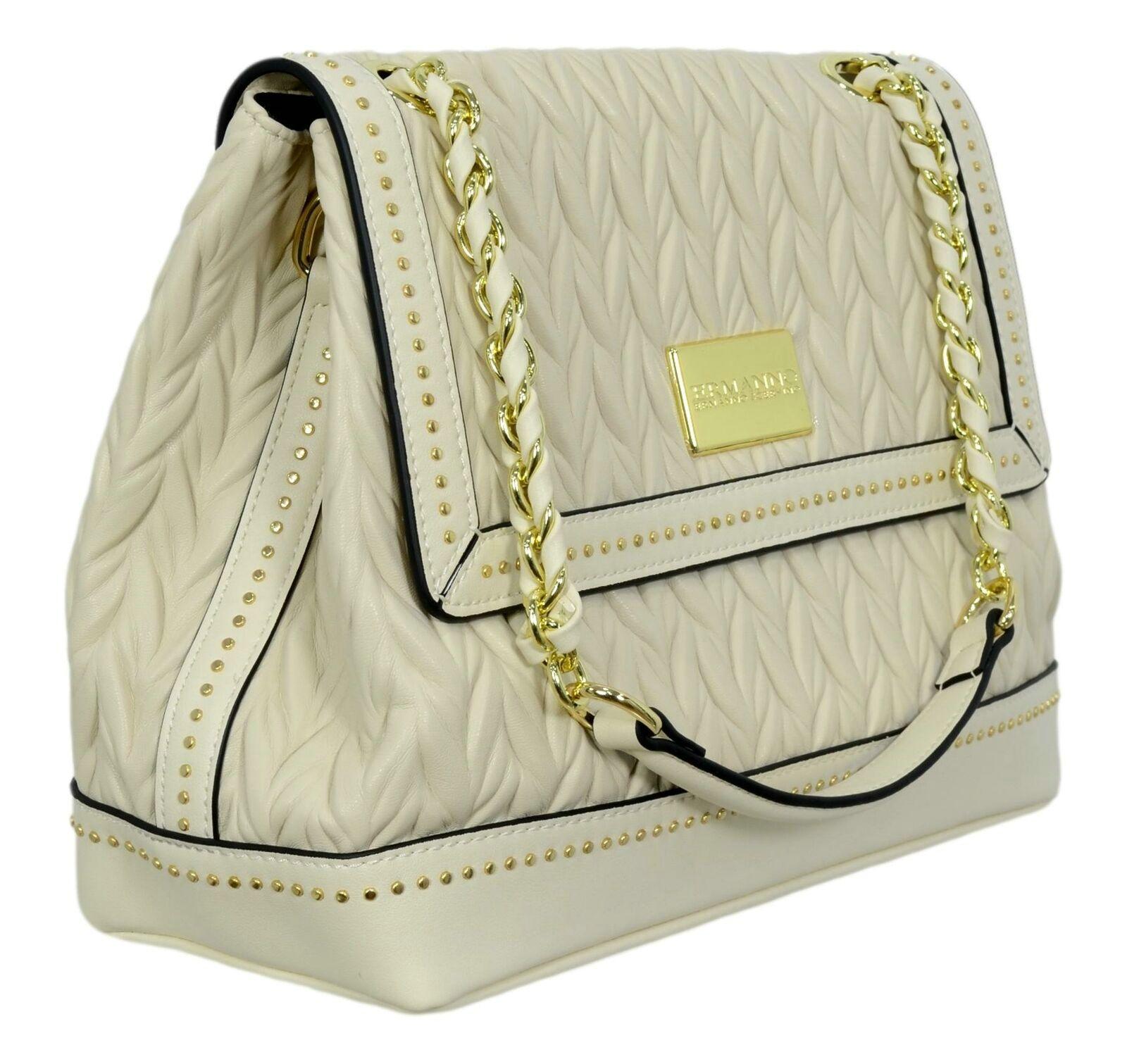 Borsa Ermanno Scervino Flap Bag Juliet 12401176 Avorio laterare