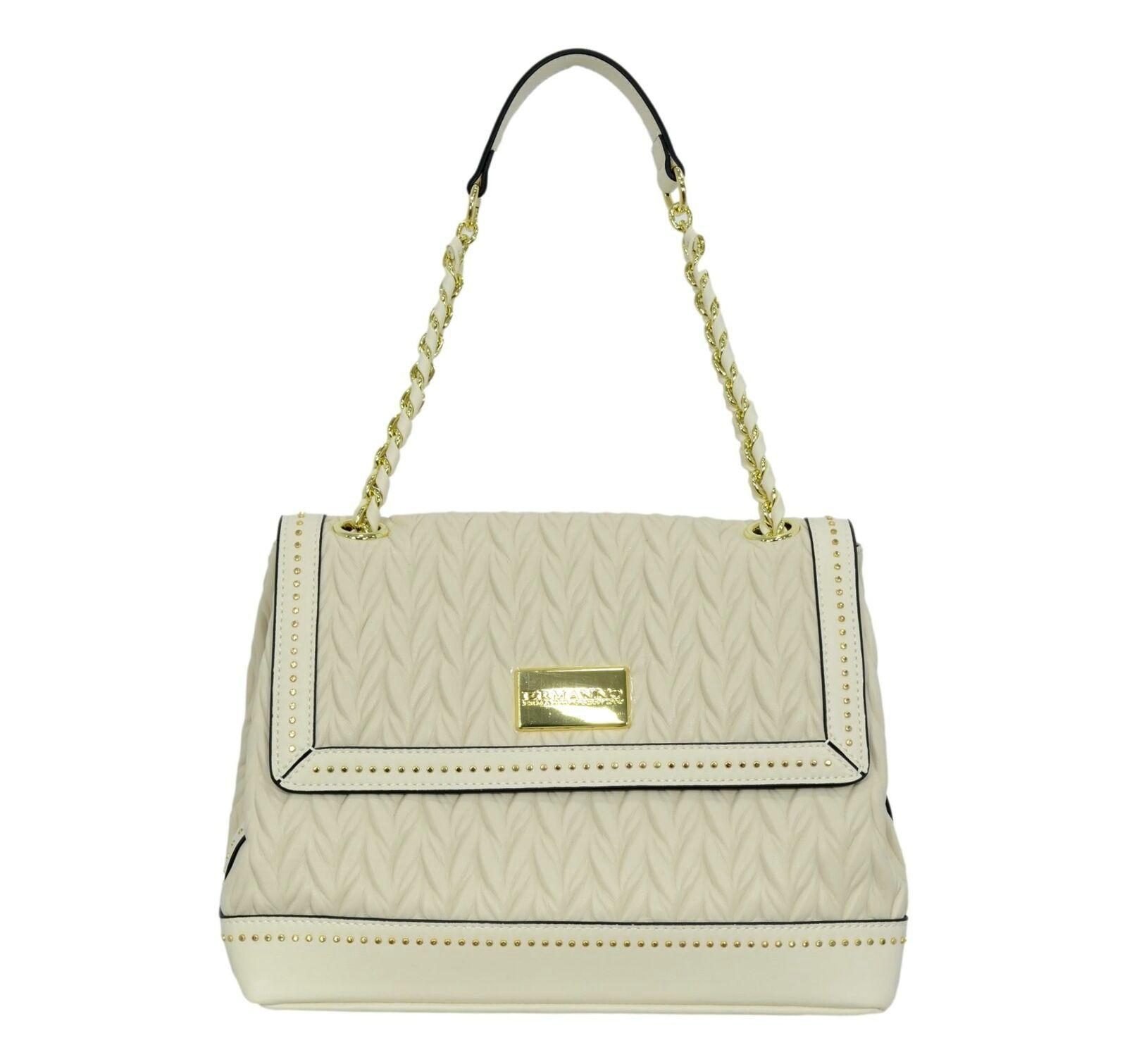 Borsa Ermanno Scervino Flap Bag Juliet 12401176 Avorio