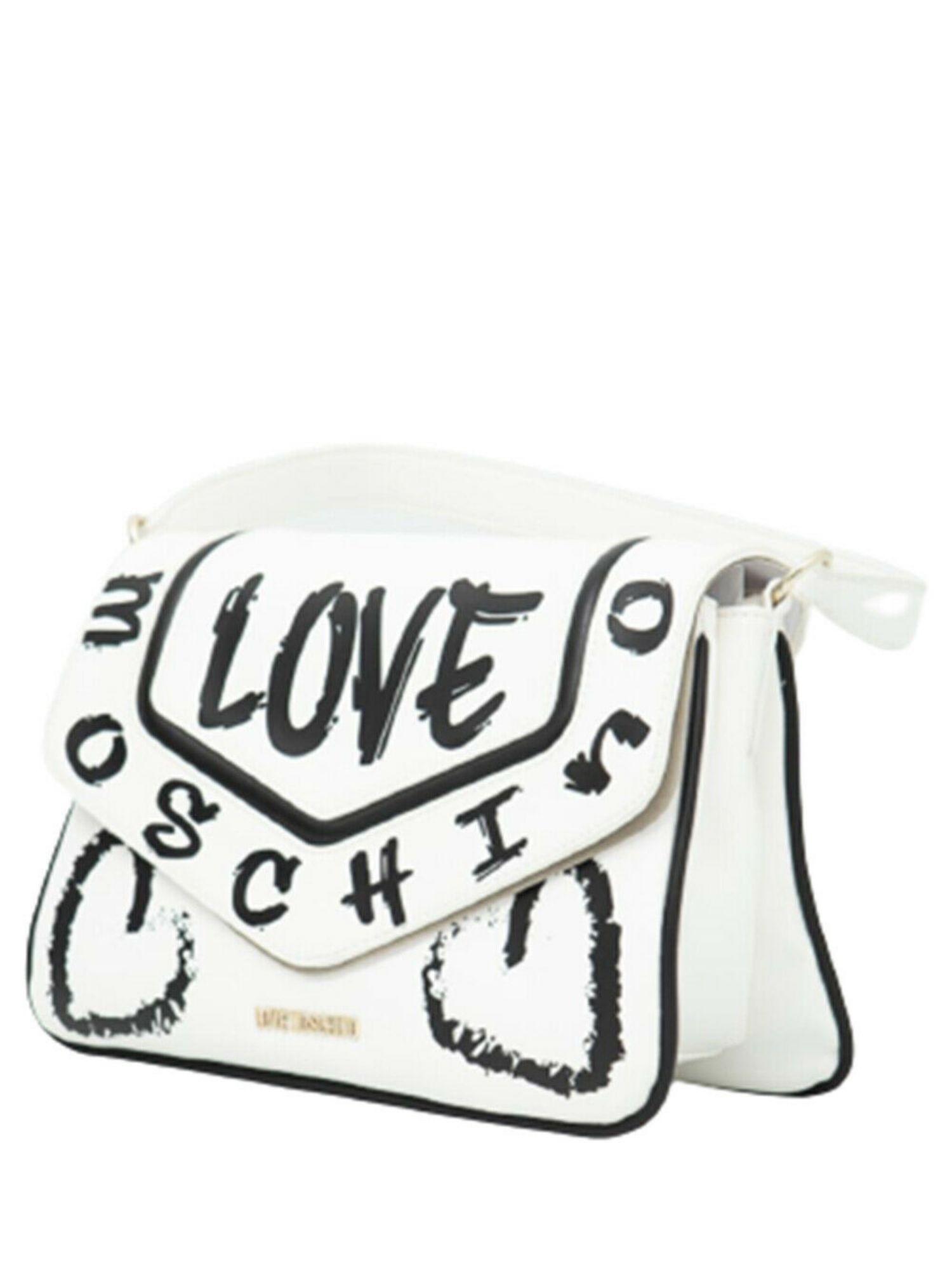 Borsa Love Moschino JC4218PP0CKC110A Bianco laterale