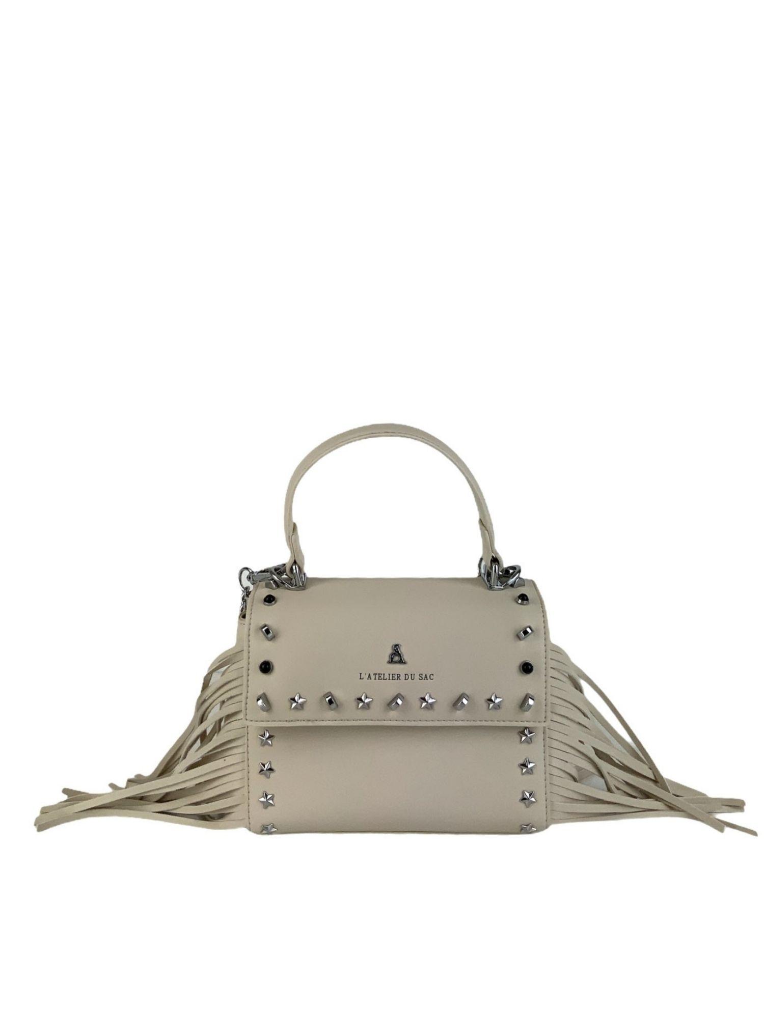 Borsa Pash Bag Atelier Du Sac 10907 Avorio