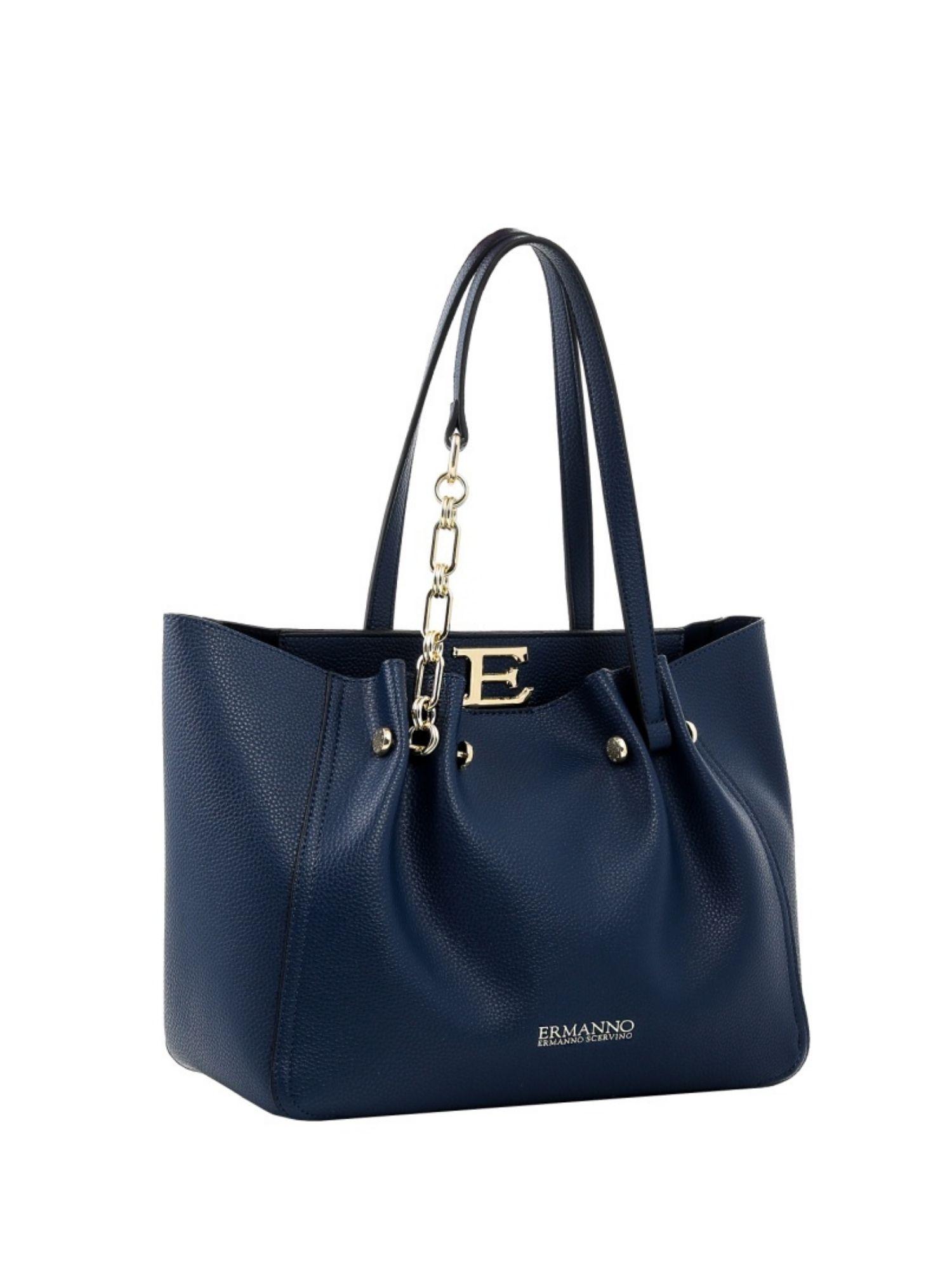 Borsa shopping Ermanno Scervino Giovanna 12401144 blu