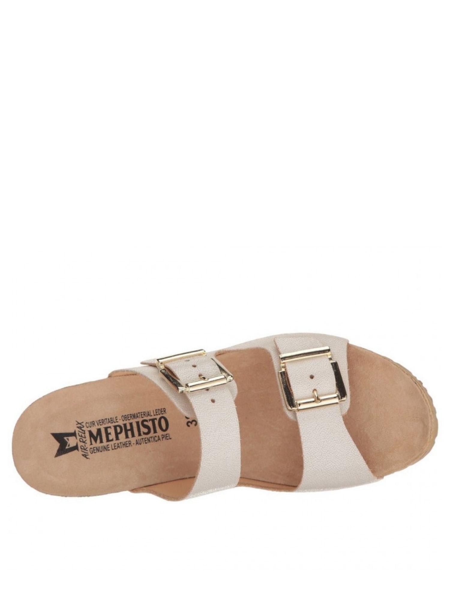 Sandalo Mephisto Lenia Bianco alta