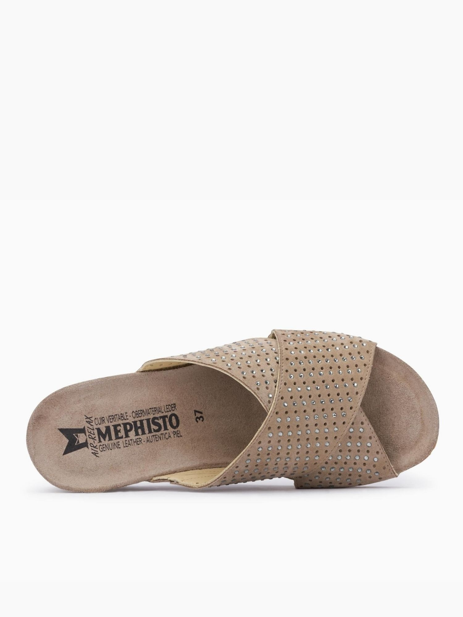 Sandalo Mephisto Melodie spark Laterale
