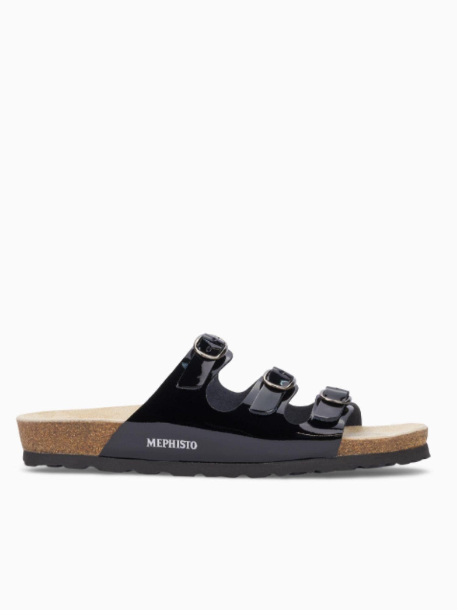 Sandalo Mephisto Nolene NERO laterale 1
