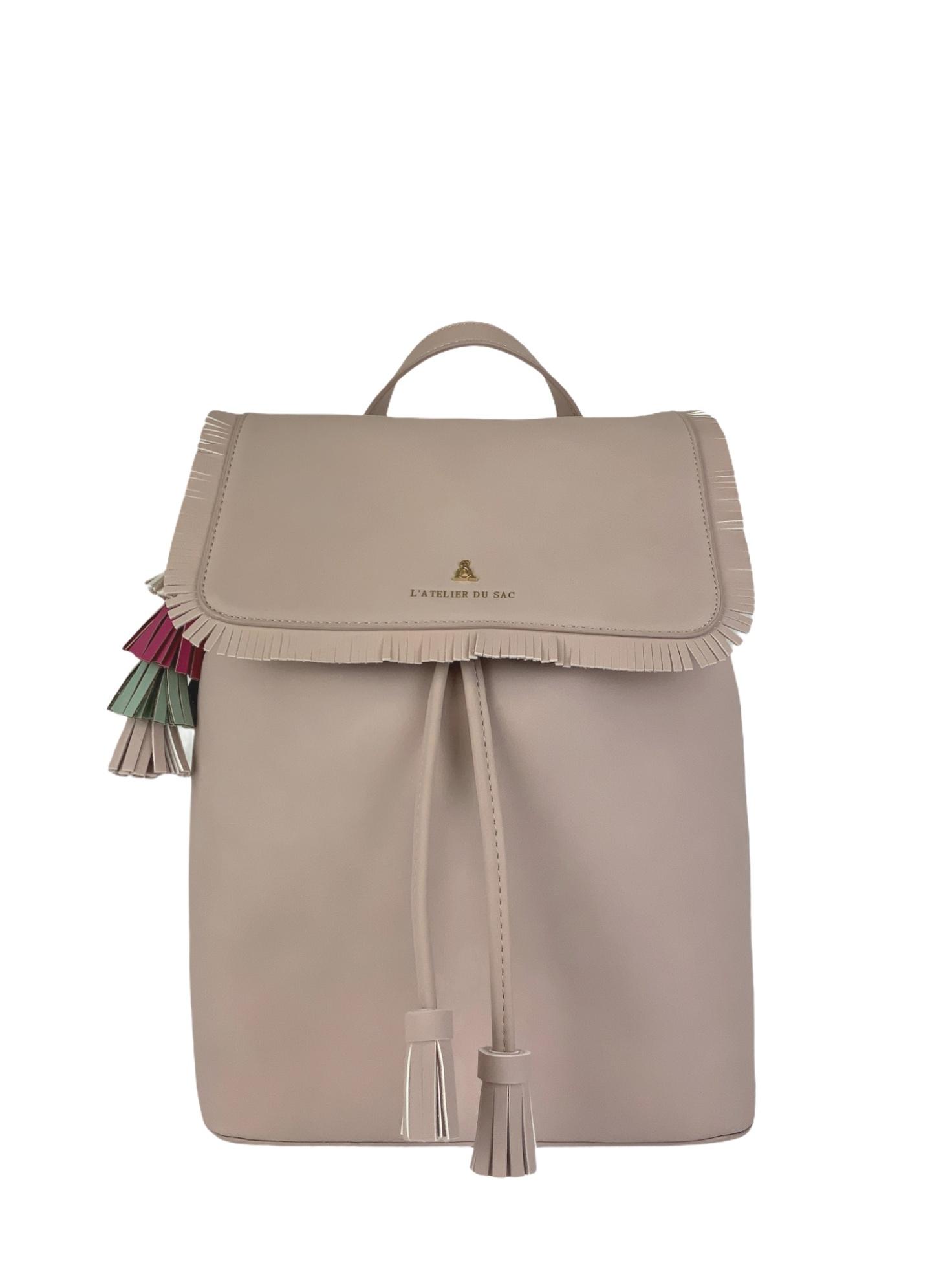 Zaino Pash Bag Atelier Du Sac 10842 Rosa Pastello