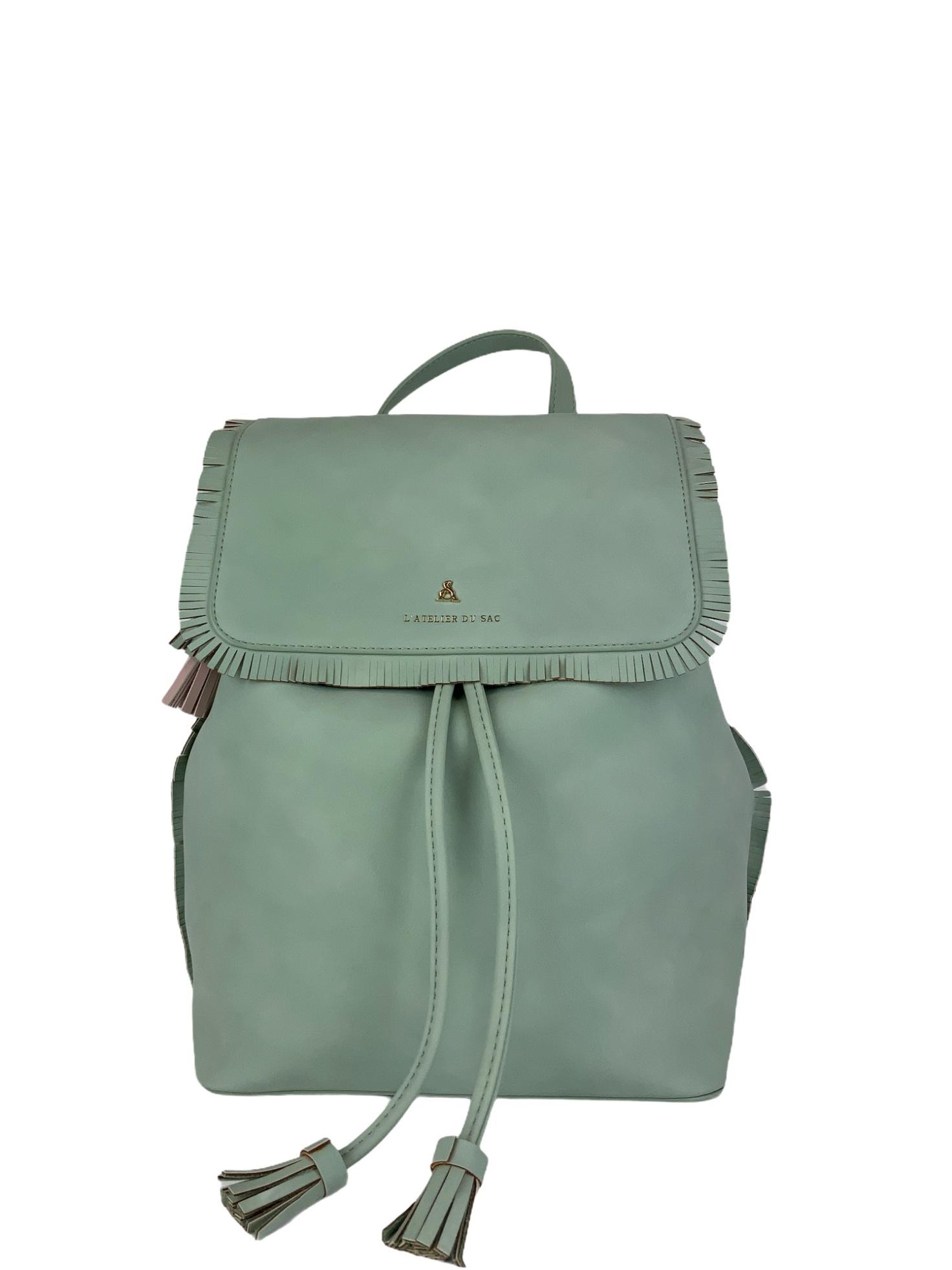 Zaino Pash Bag Atelier Du sac 10844 Verde Pastello
