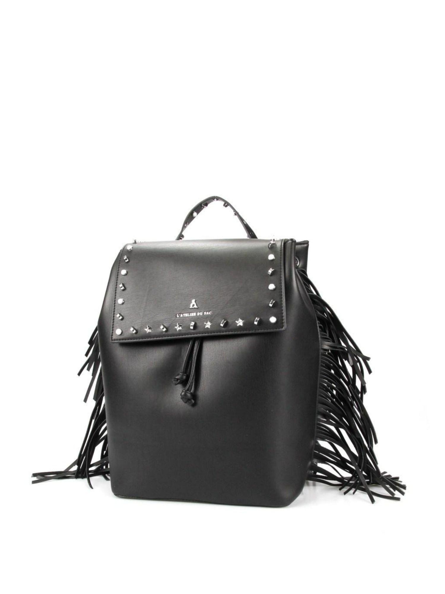 Zaino Pash Bag Atelier du sac 10902 Nero