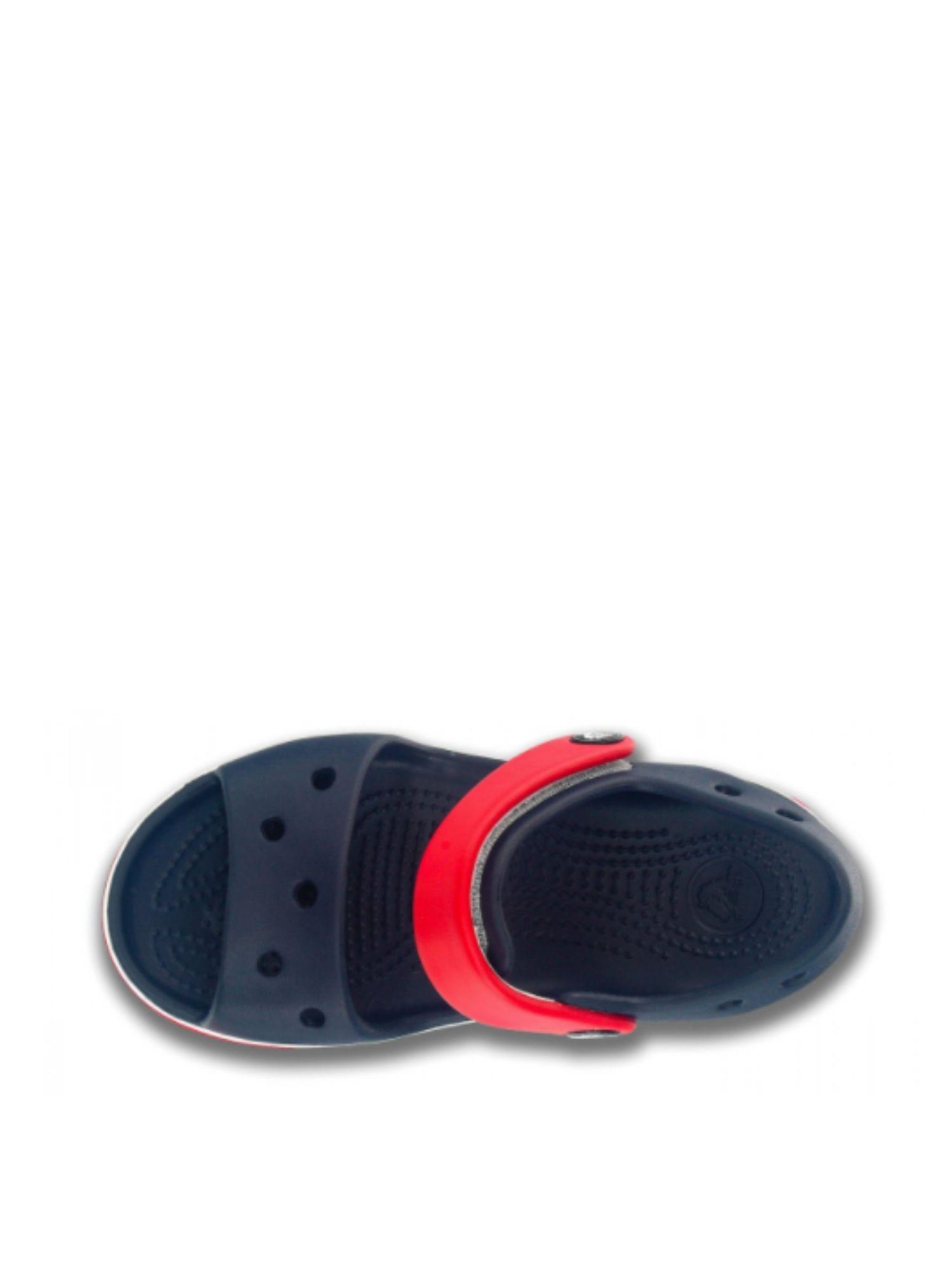 Sandalo Crocs bambino Crocband Sandalo K 12856 NavyRed alto