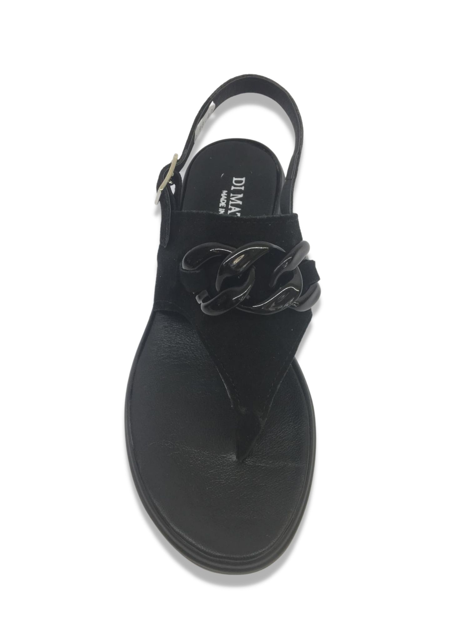 Sandalo Infradito Made in Italy 303 Nero alto