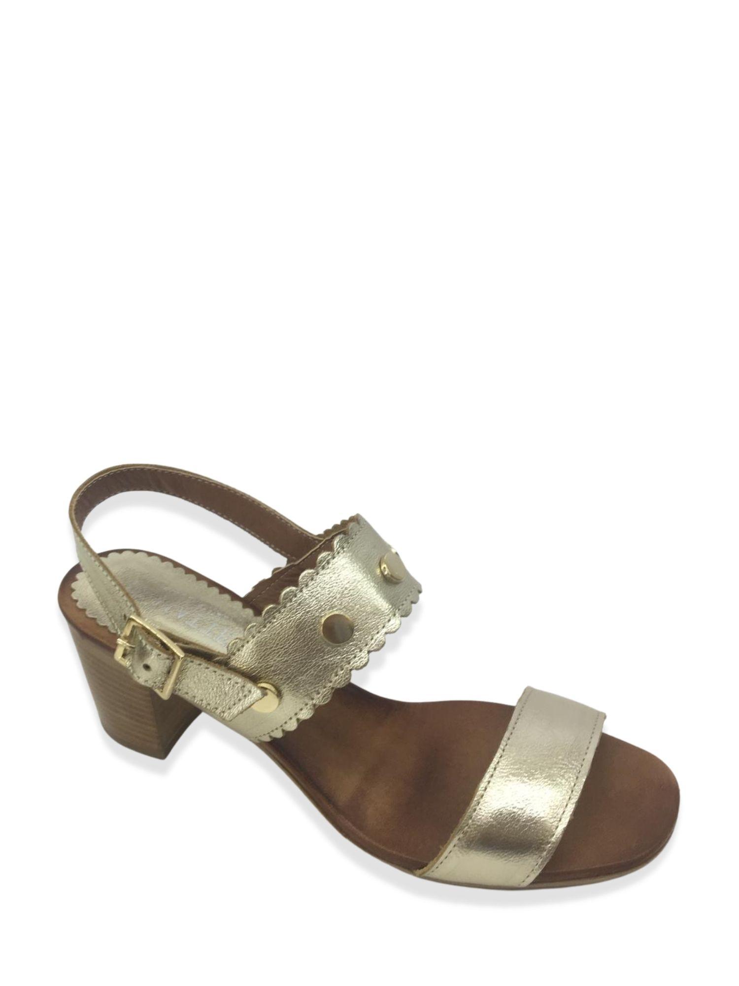 Sandalo Made in Italy 101 Platino