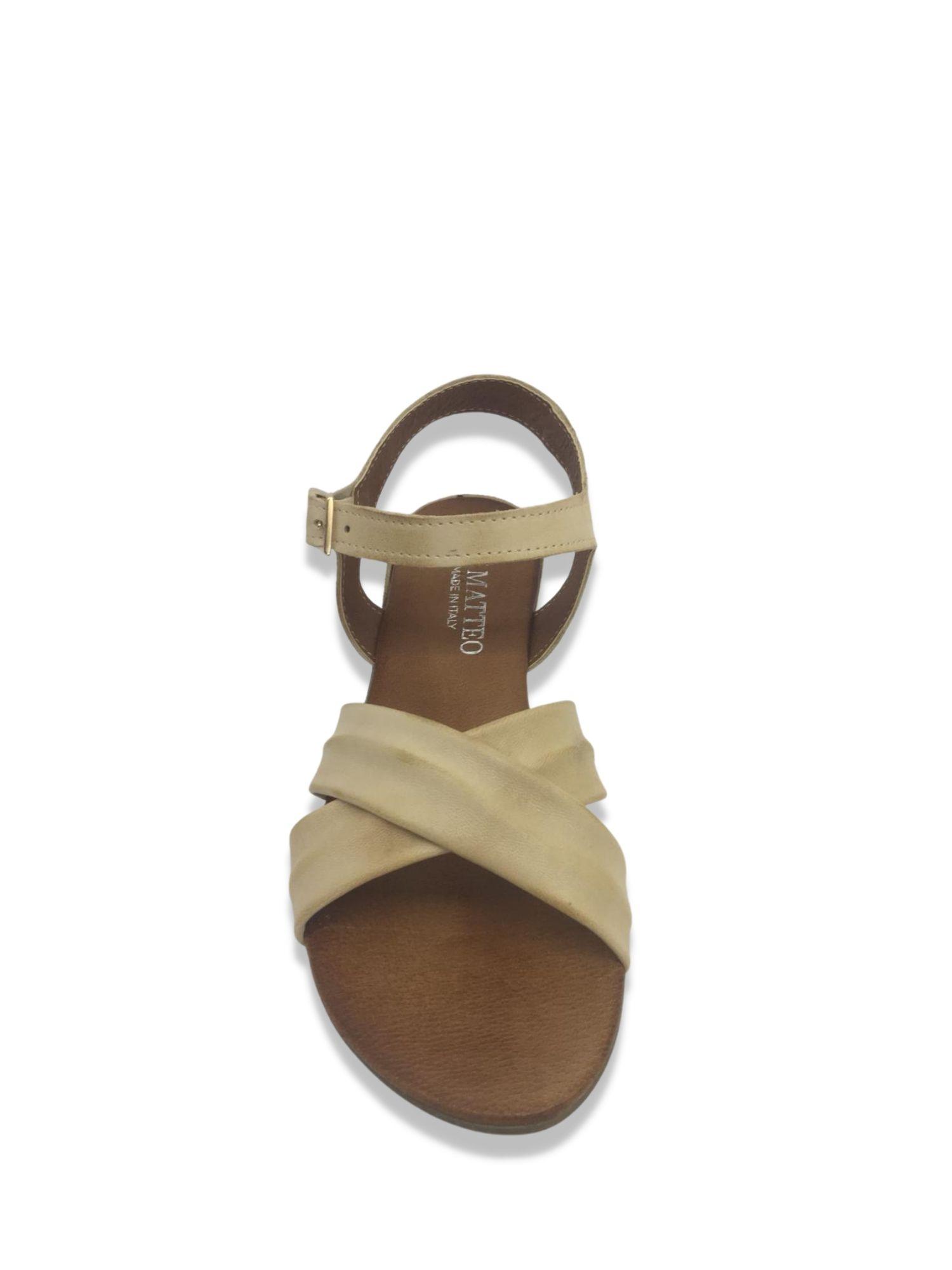Sandalo Made in Italy 204 Beige alto