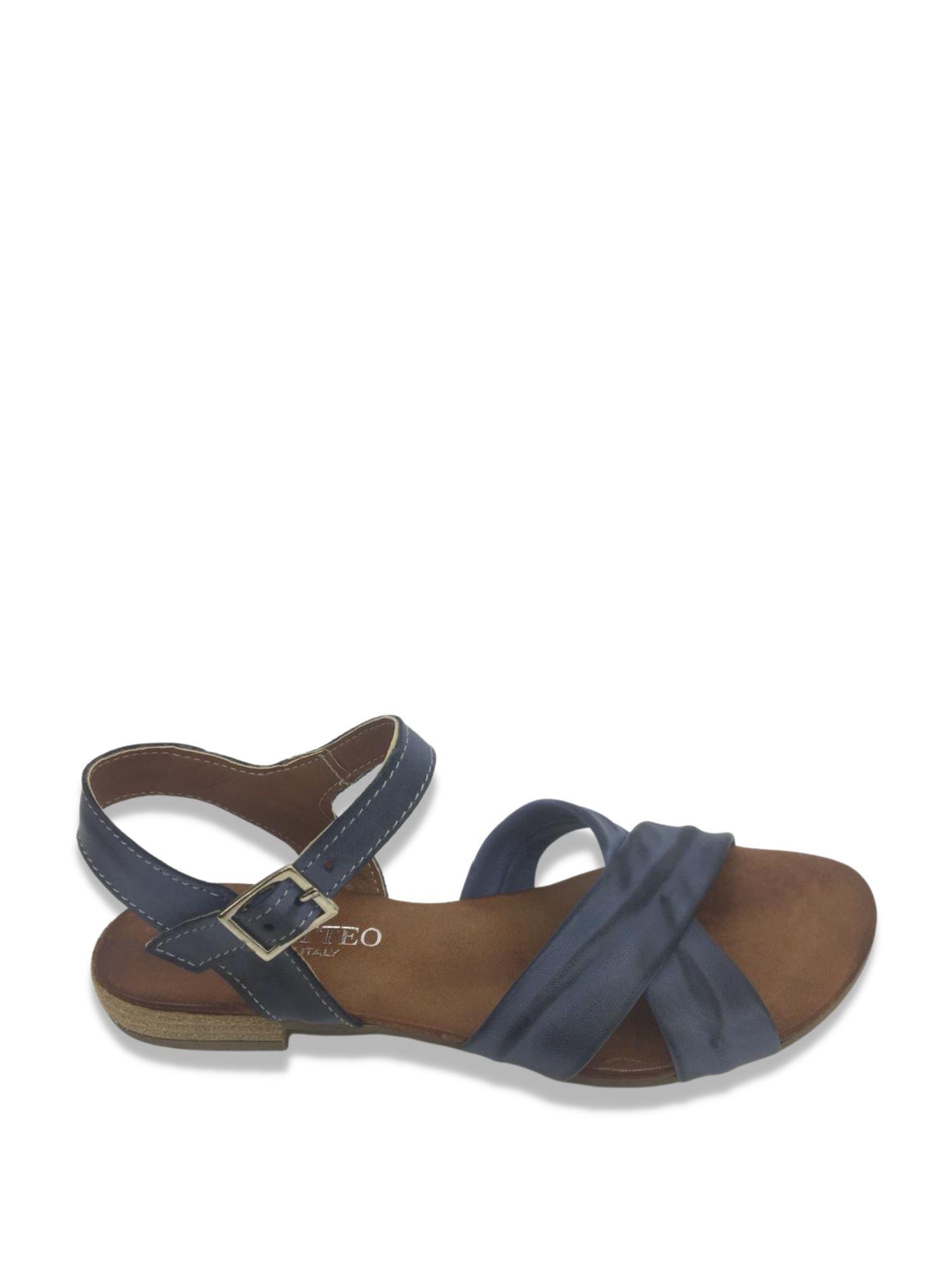 Sandalo Made in Italy 204 Blu