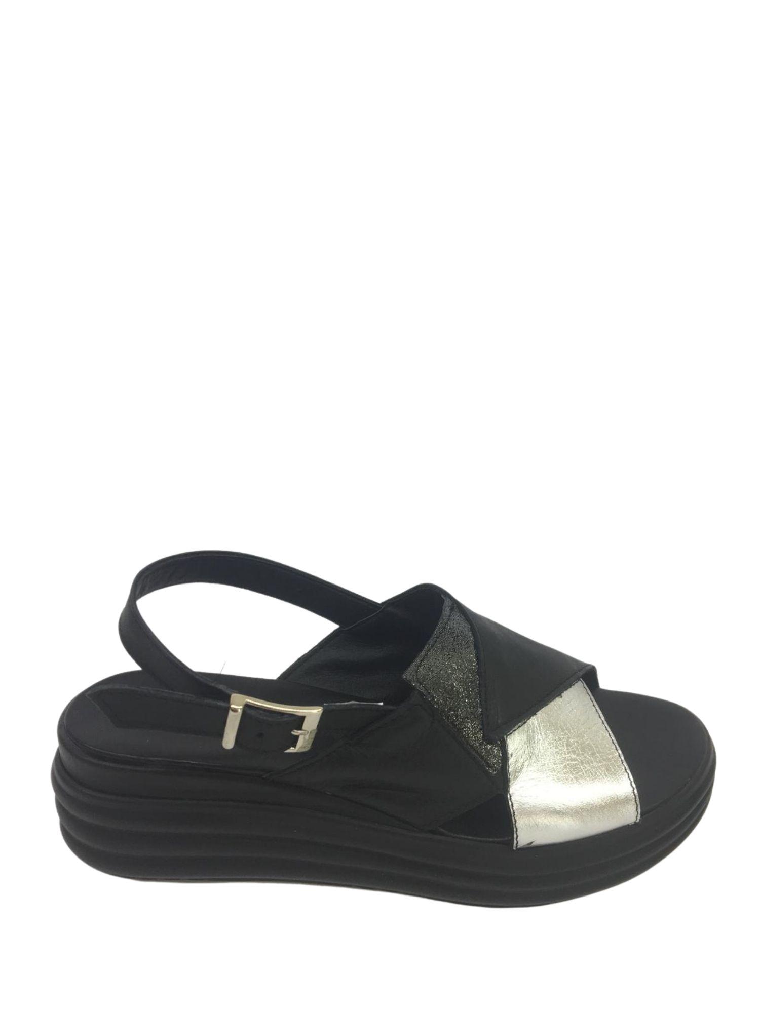 Sandalo Made in Italy 409 Nero