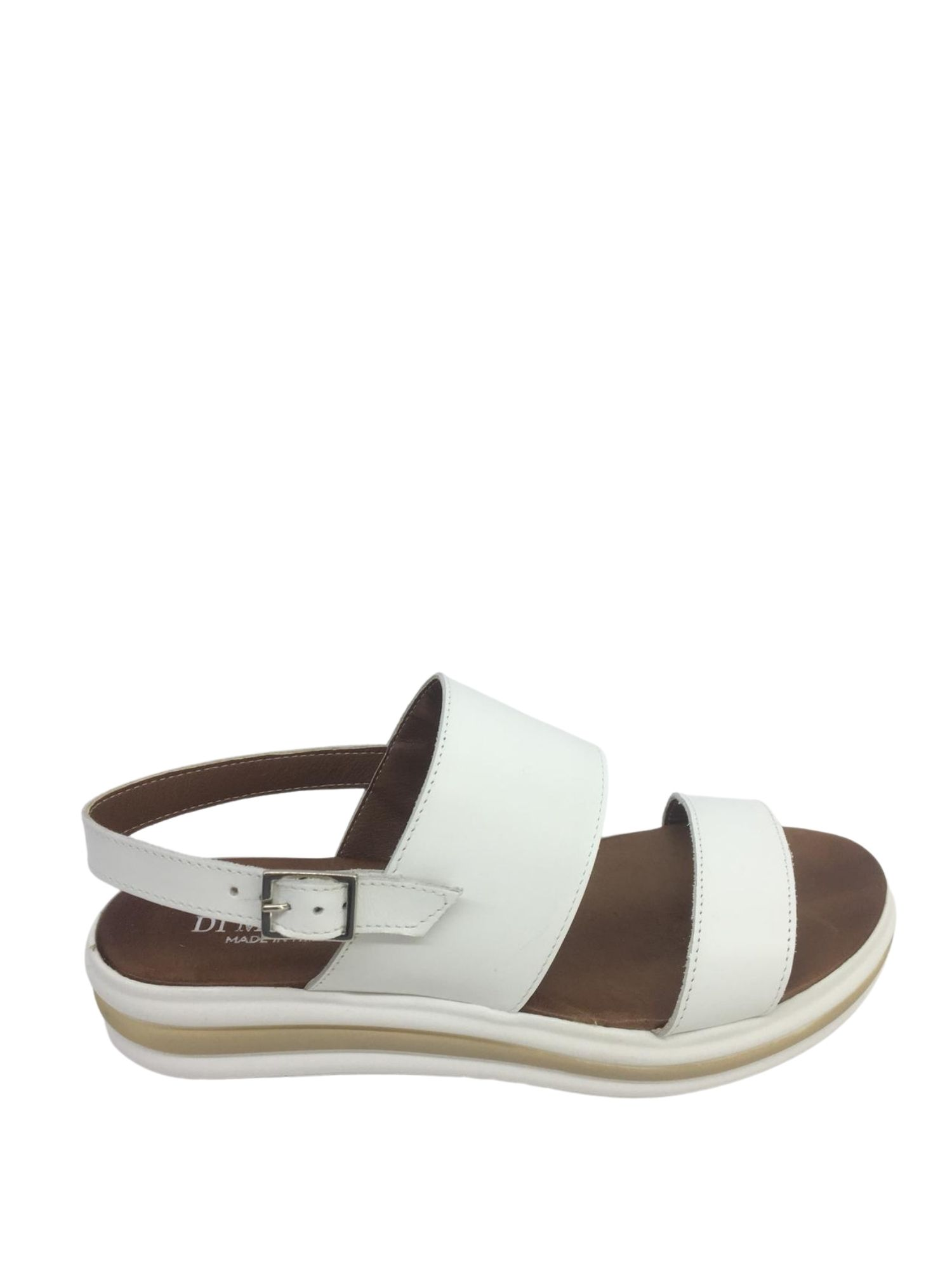 Sandalo Made in Italy 413 Bianco