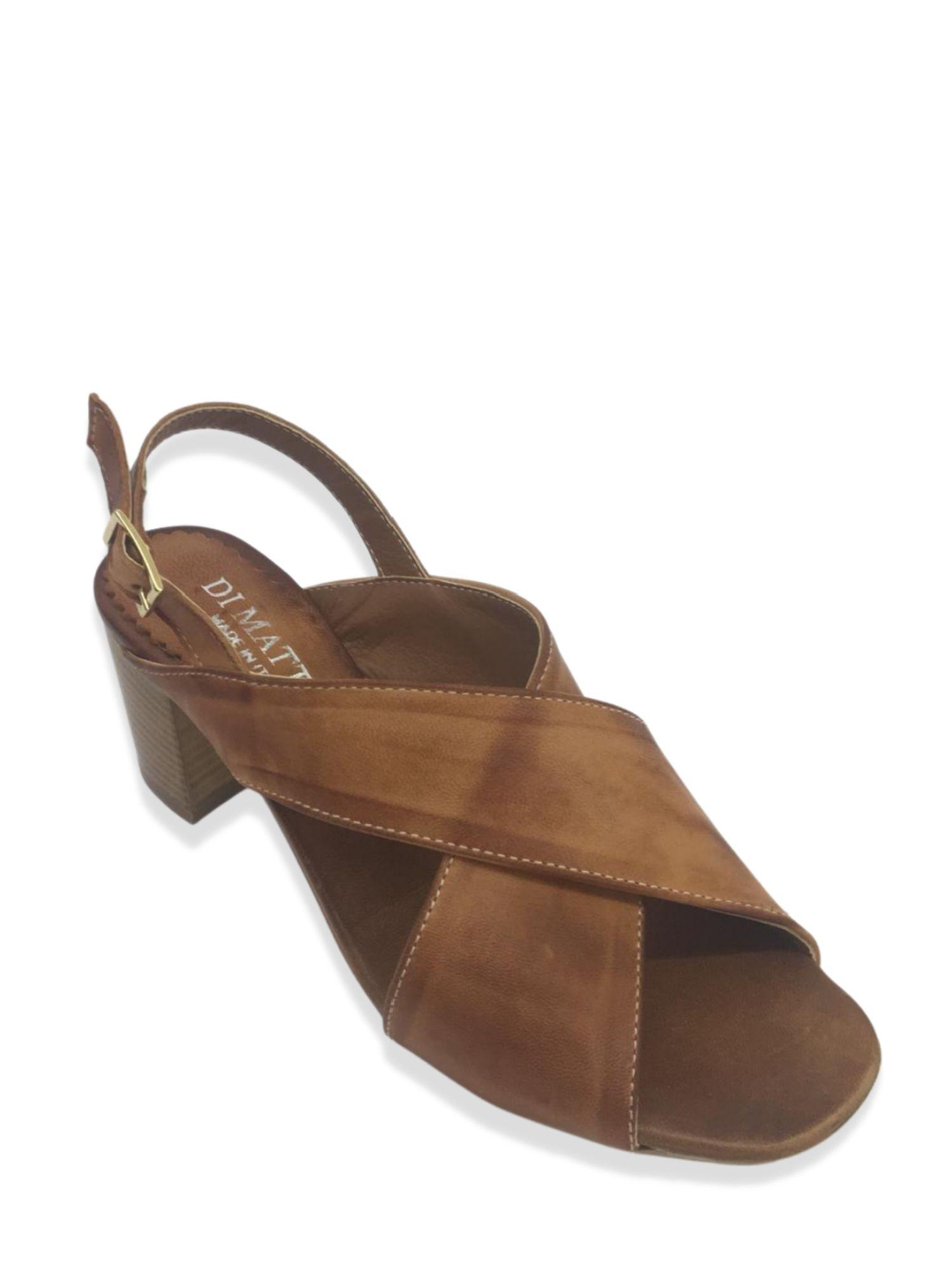 Sandalo Made in Italy 505 Cuoio alto 2