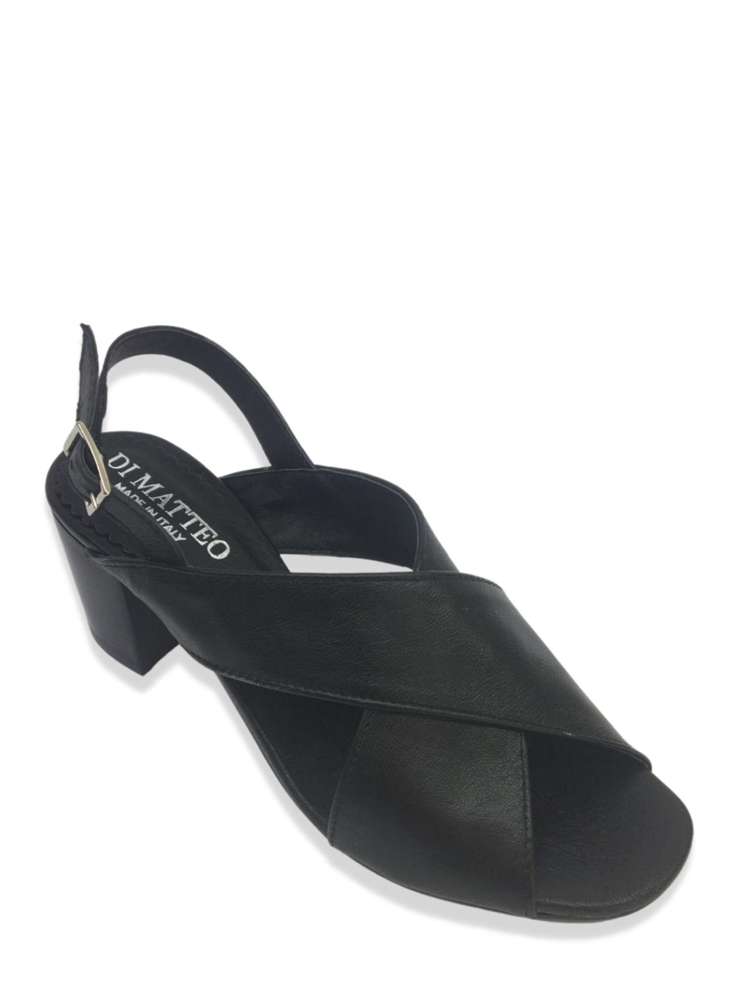 Sandalo Made in Italy 505 Nero alto 2