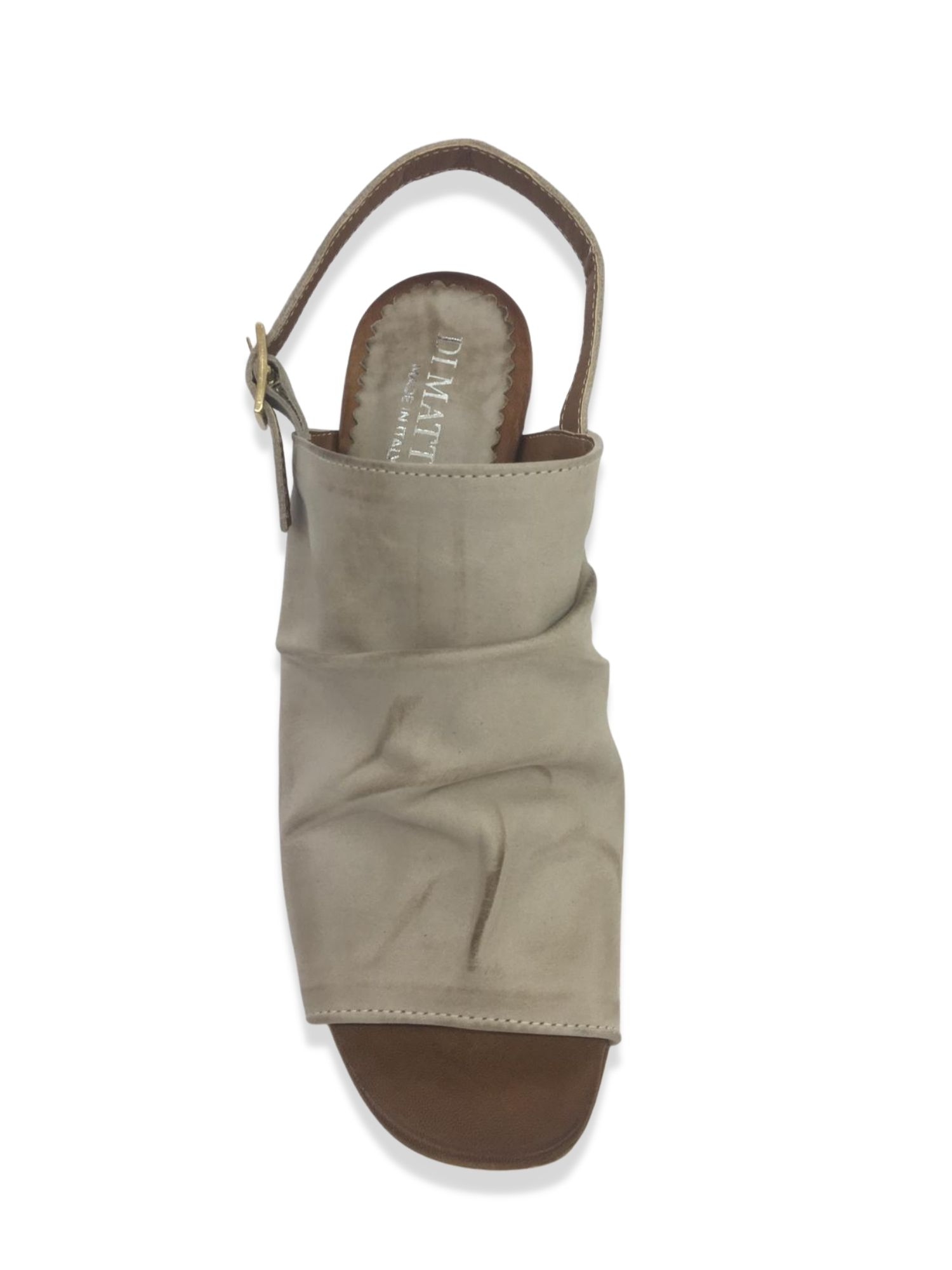 Sandalo Sabot Made in Italy 106 Taupe alto 1