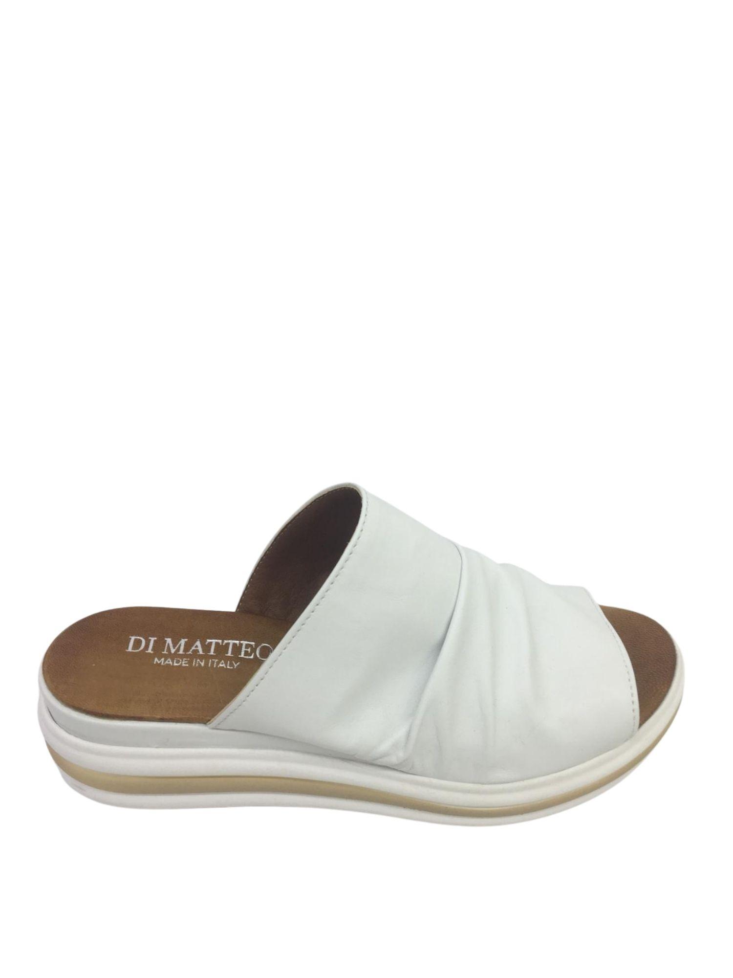 Sandalo Sabot Made in Italy 404 Bianco