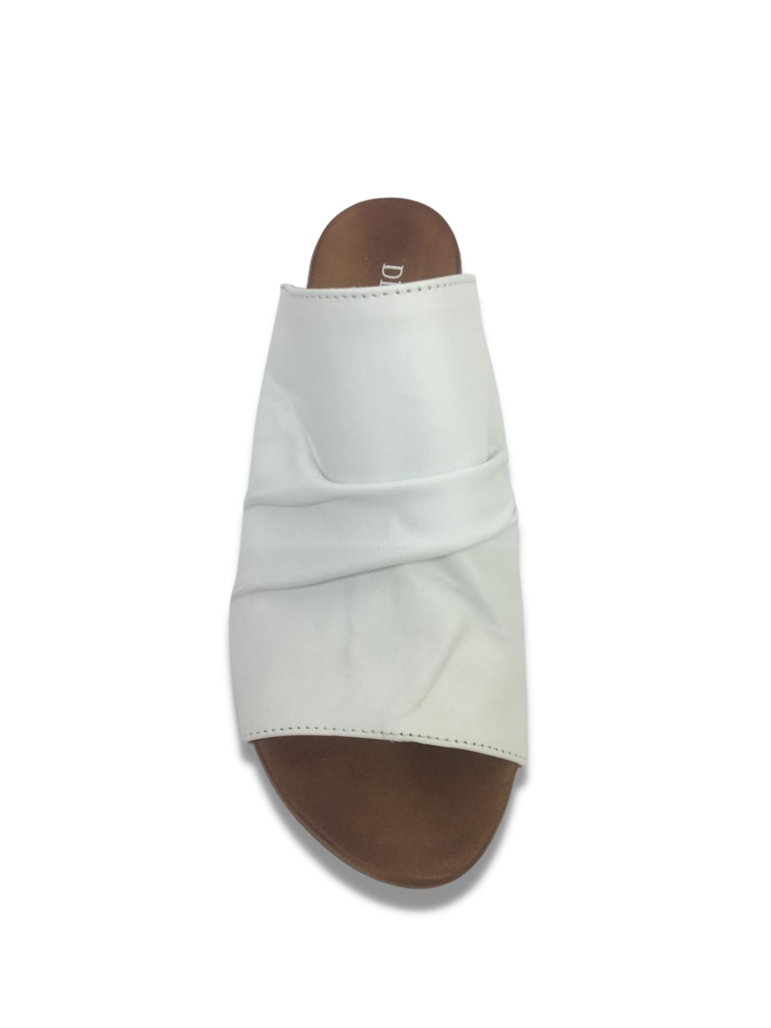 Sandalo Scalzato Made in Italy 207 Bianco alto