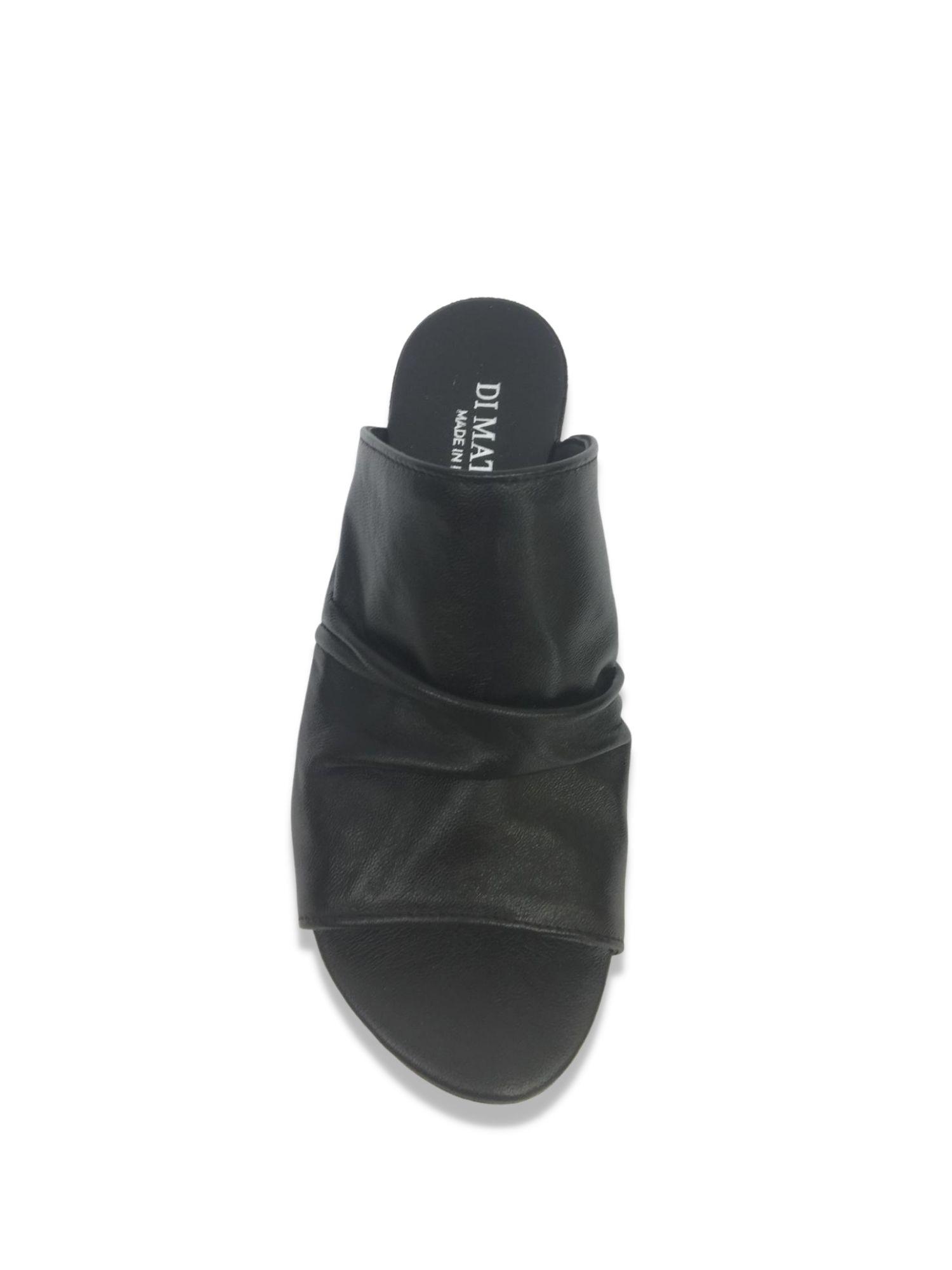 Sandalo Scalzato Made in Italy 207 Nero alto
