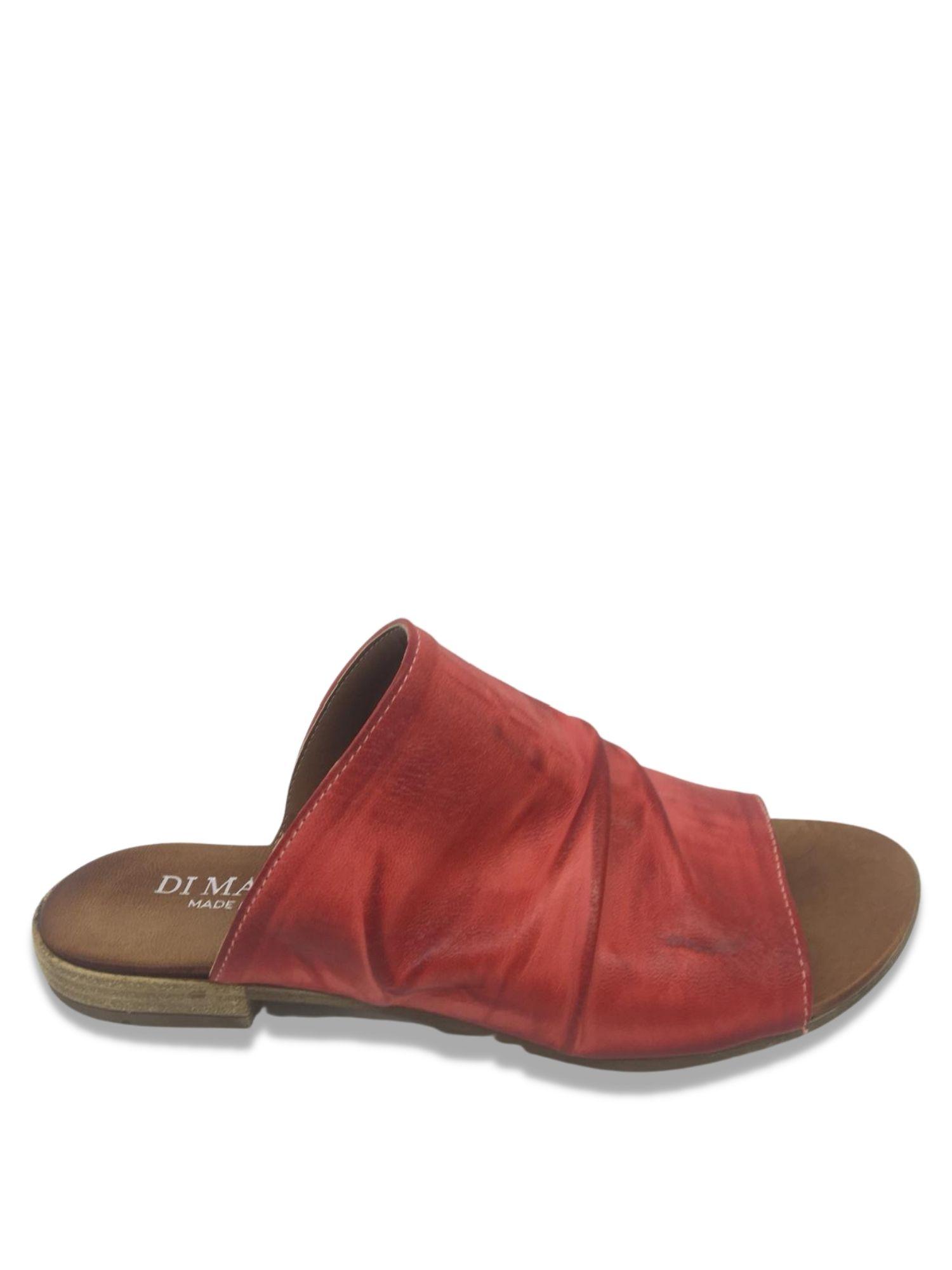 Sandalo Scalzato Made in Italy 207 Rosso