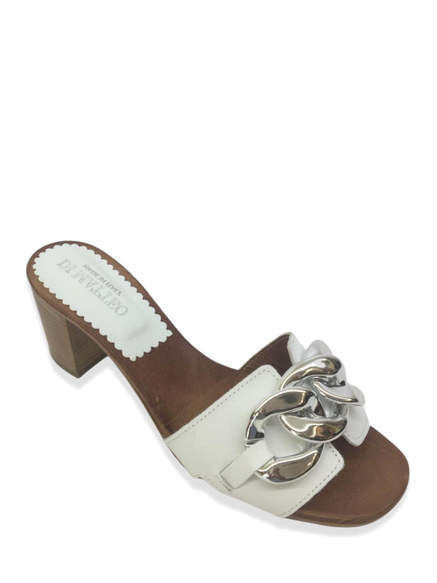 Sandalo Scalzato Made in Italy 500 Bianco alto 2