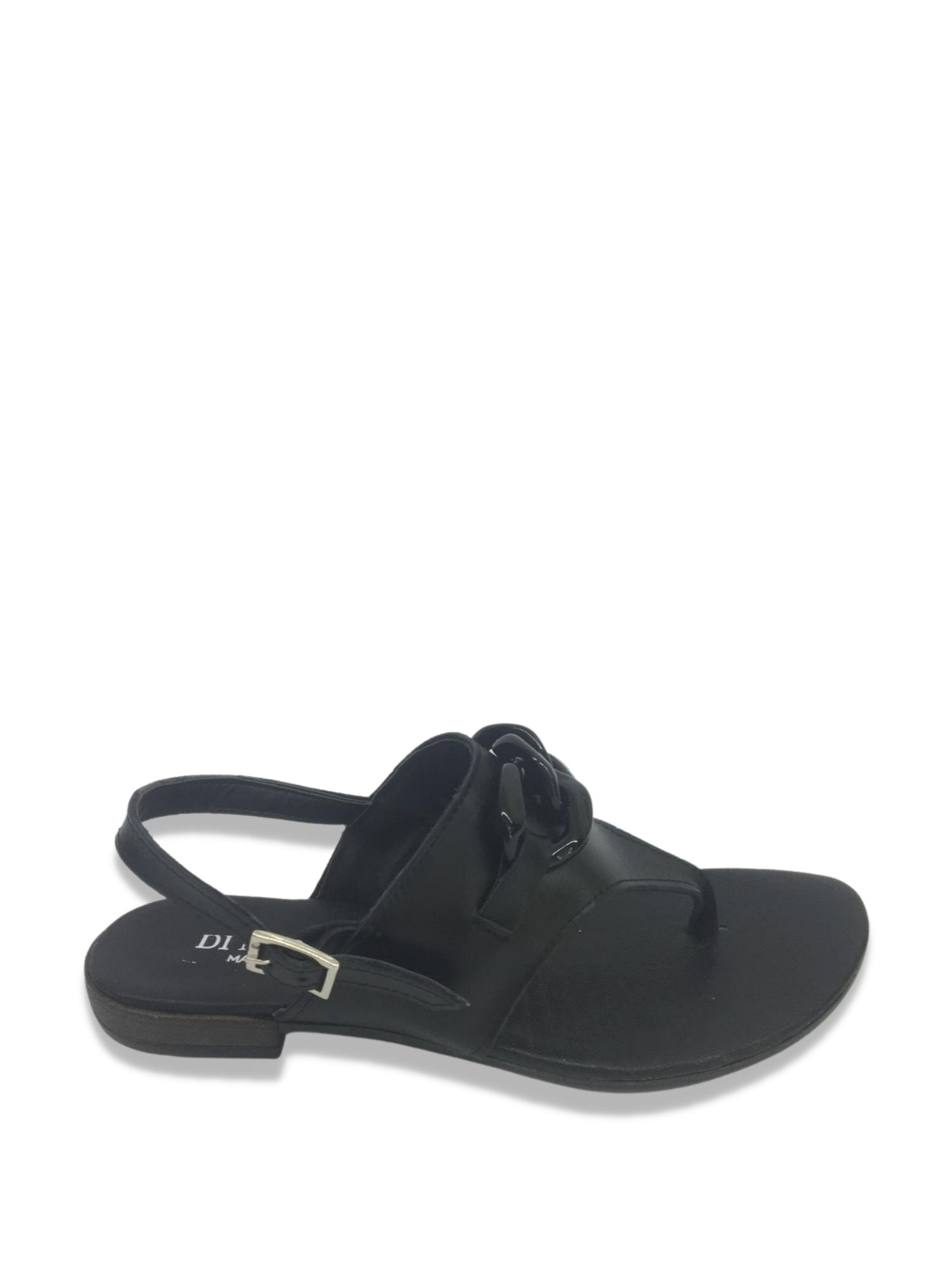 Sandalo infradito Made in Italy 203 Nero