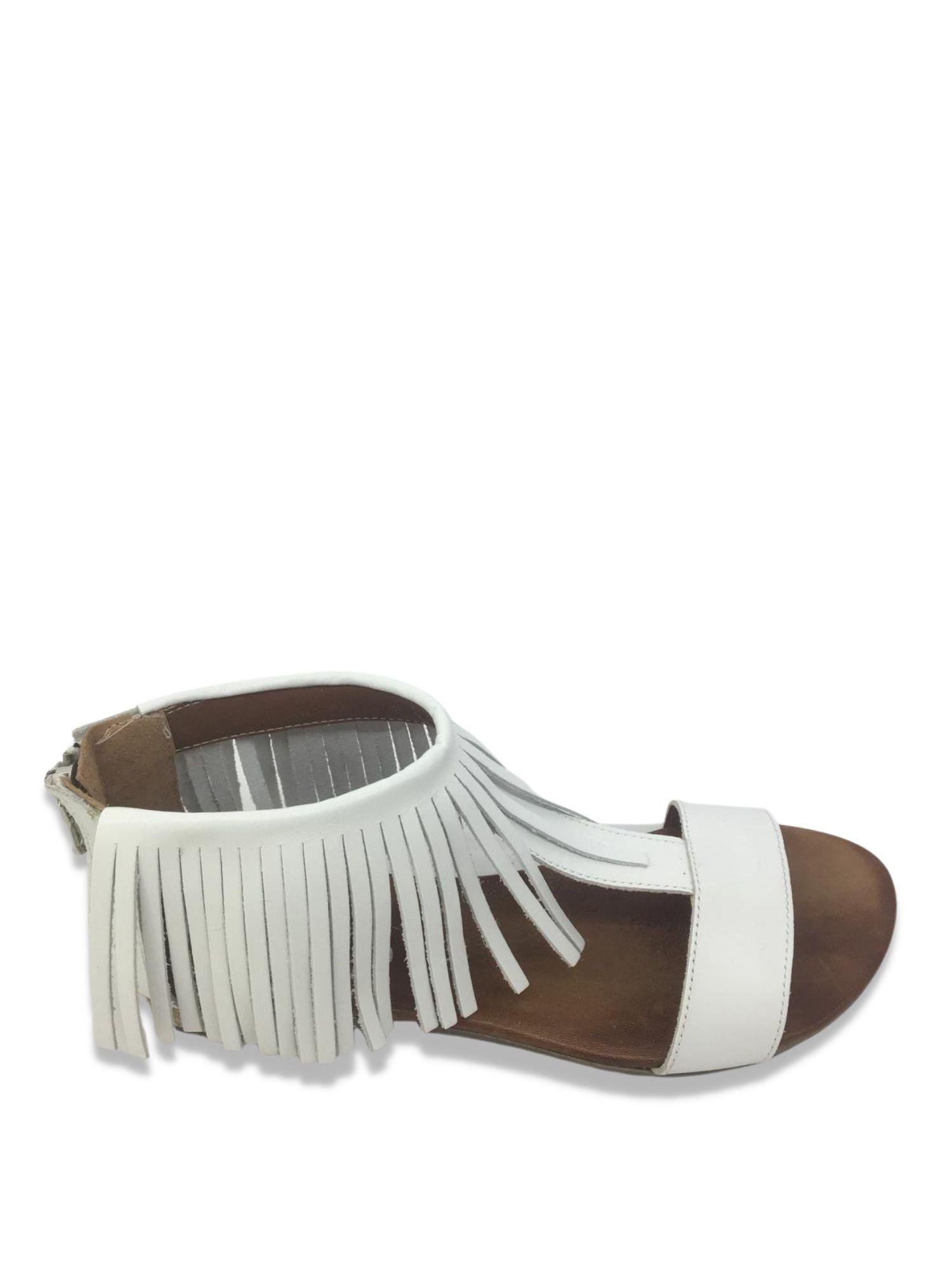 Sandalo infradito Made in Italy 215 Bianco