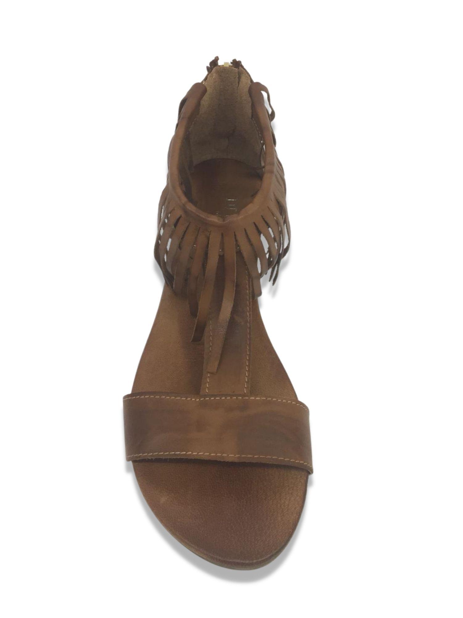 Sandalo infradito Made in Italy 215 cuoio 1