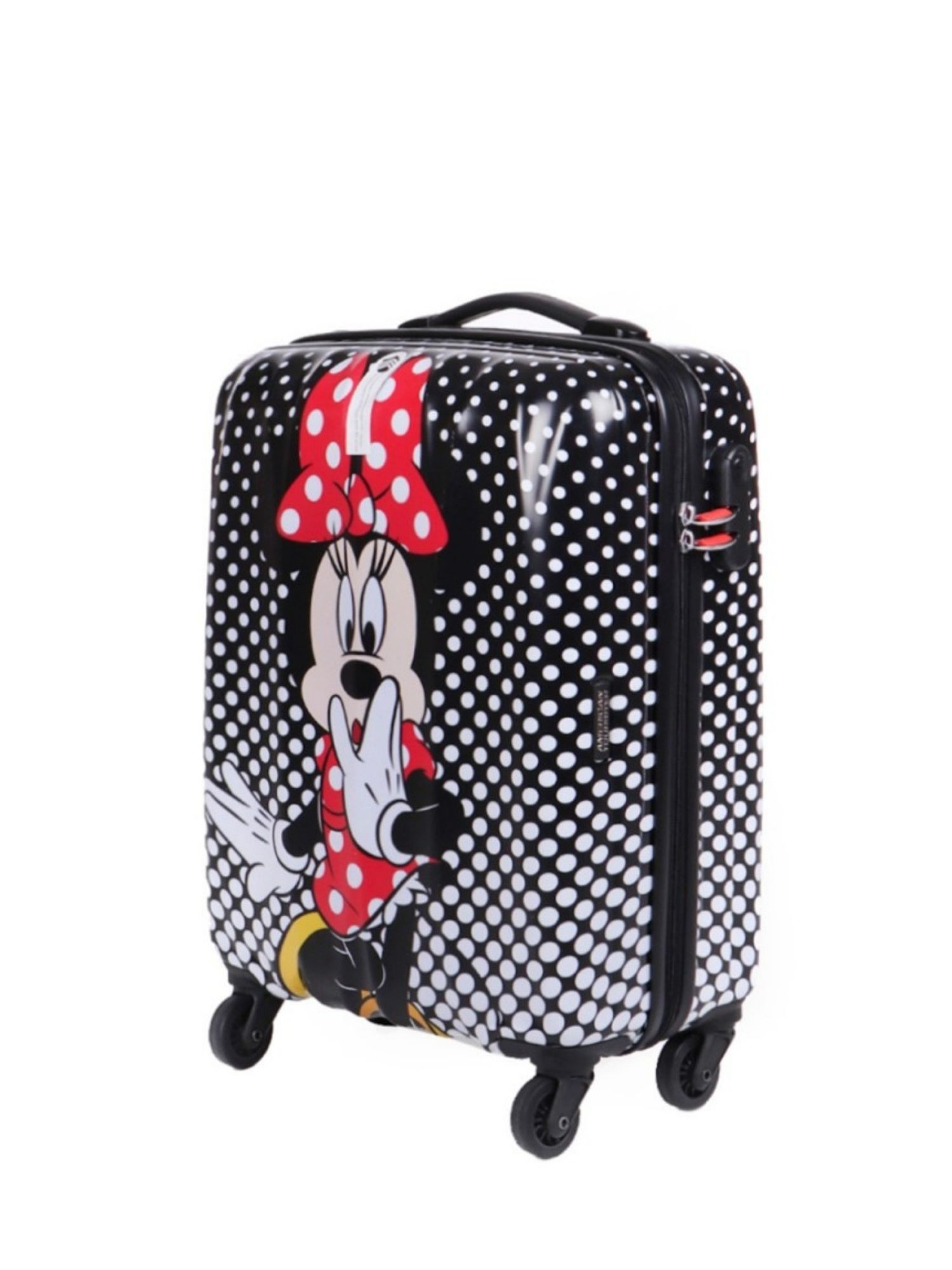 Trolley 4 ruote 55 cm. Disney Legends Minnie Mouse Polka Dot laterale