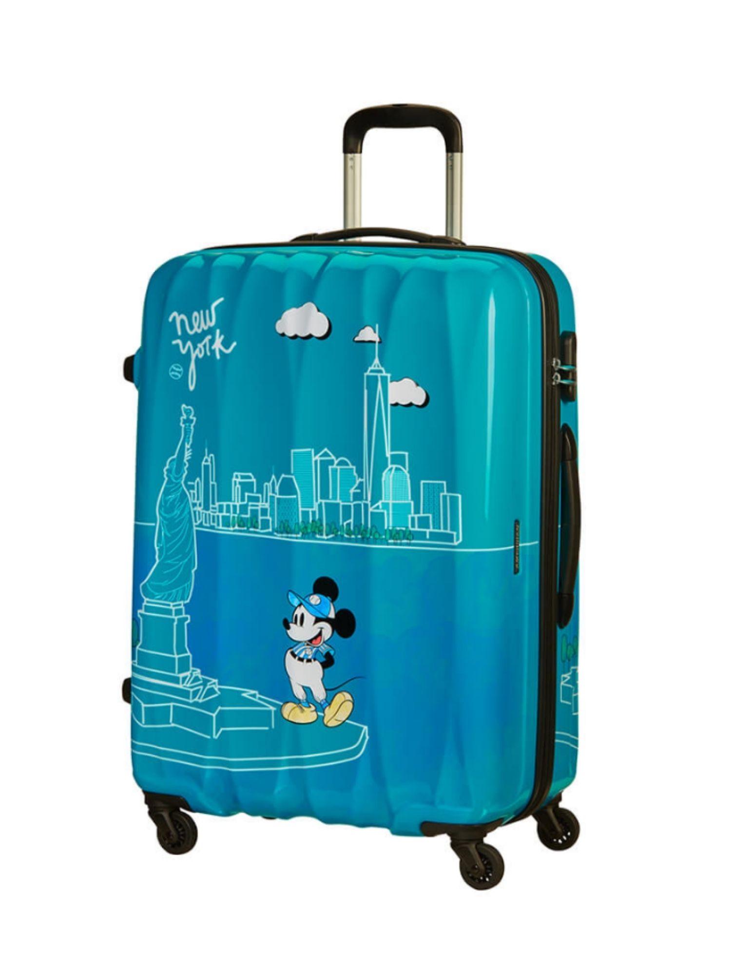 Trolley 4 ruote 55 cm. Disney Legends Take Me Away Mickey Nyc dettagli