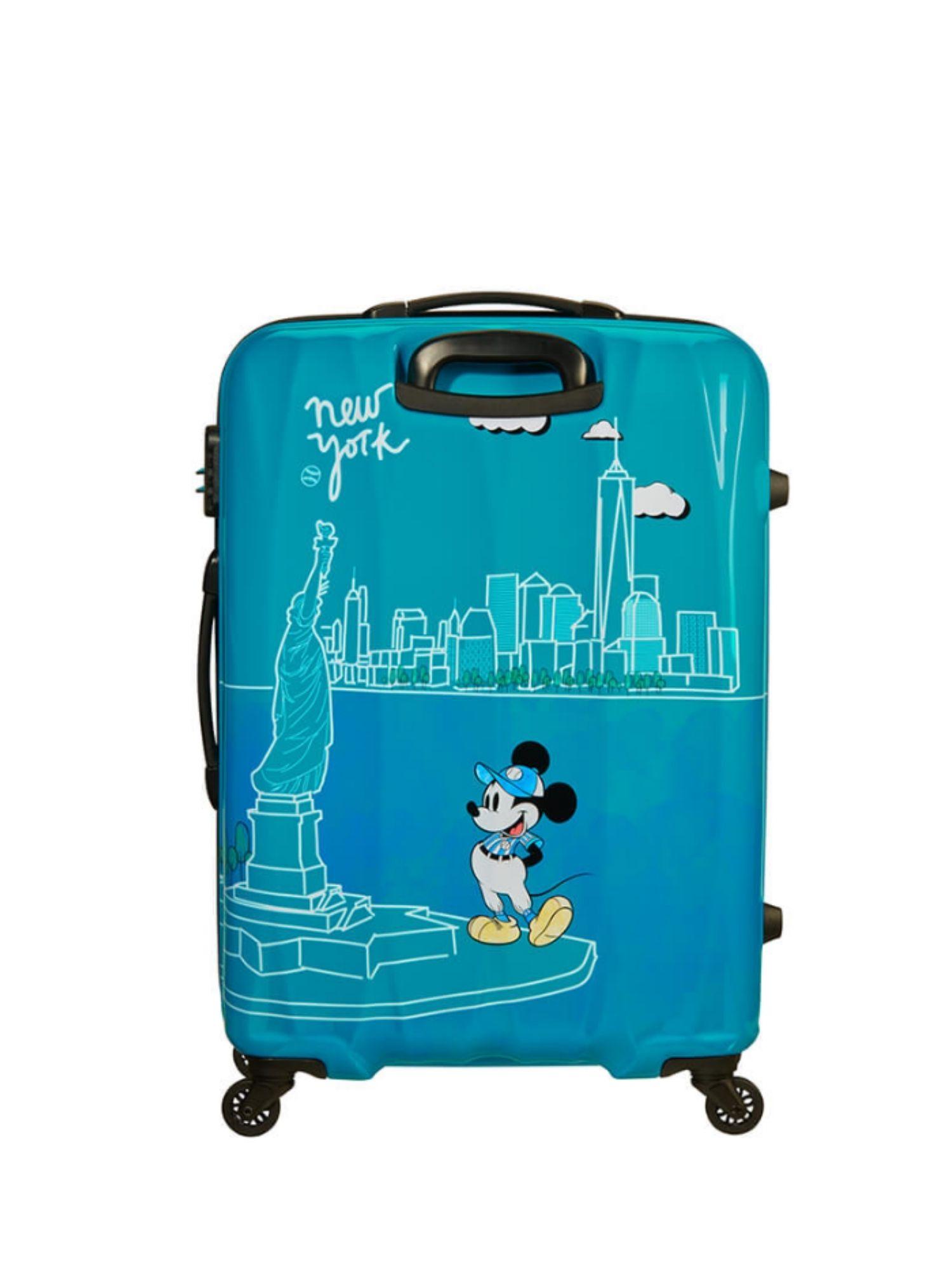 Trolley 4 ruote 55 cm. Disney Legends Take Me Away Mickey Nyc retro