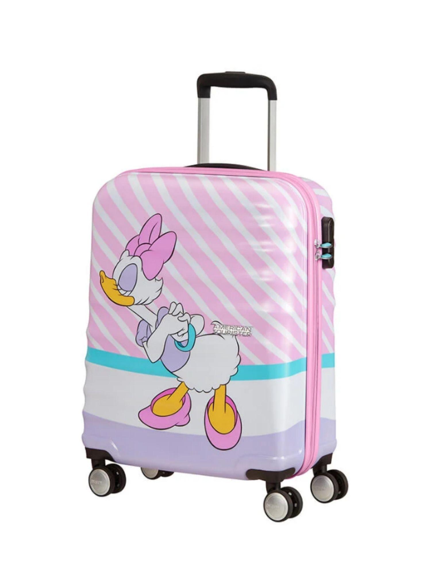 Trolley American Tourister 4 ruote 55 cm. Wavebreaker Disney Daisy Pink Kiss