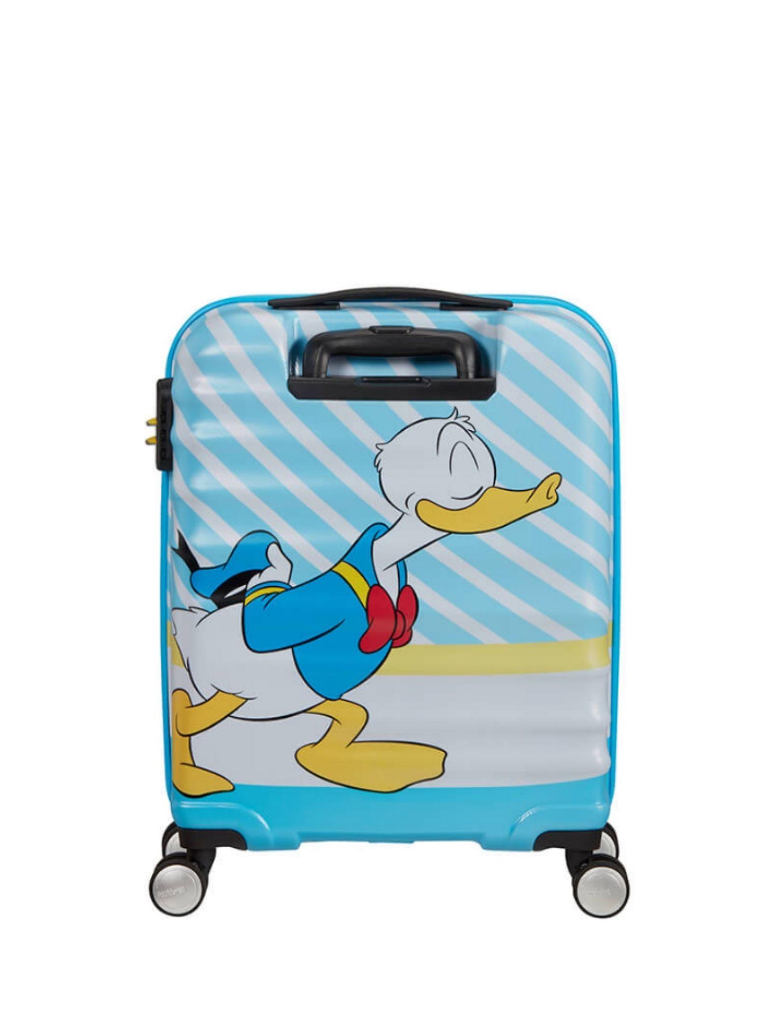 Trolley American Tourister 4 ruote 55 cm. Wavebreaker Disney Donald Blue Kiss retro