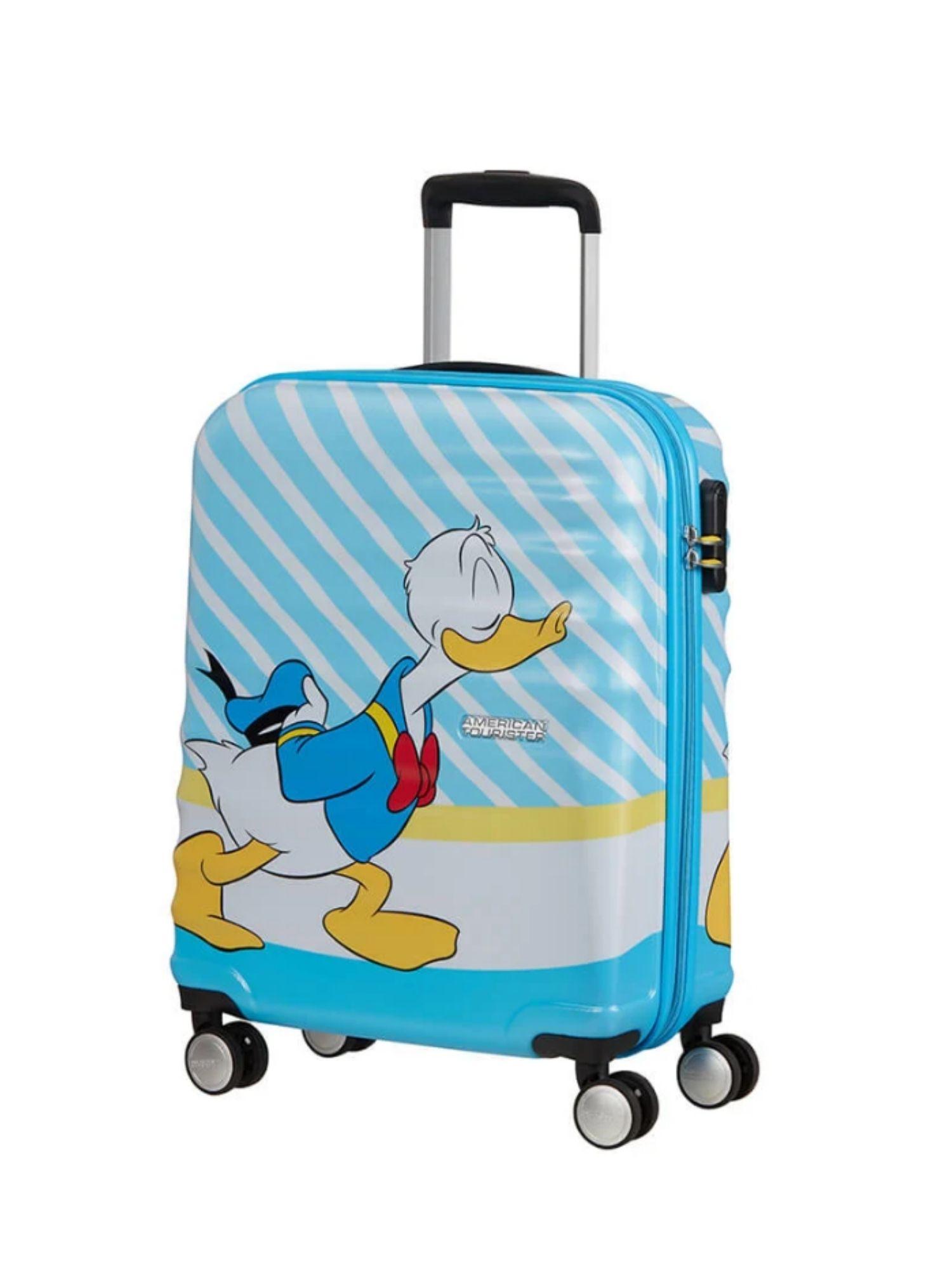Trolley American Tourister 4 ruote 55 cm. Wavebreaker Disney Donald Blue Kiss